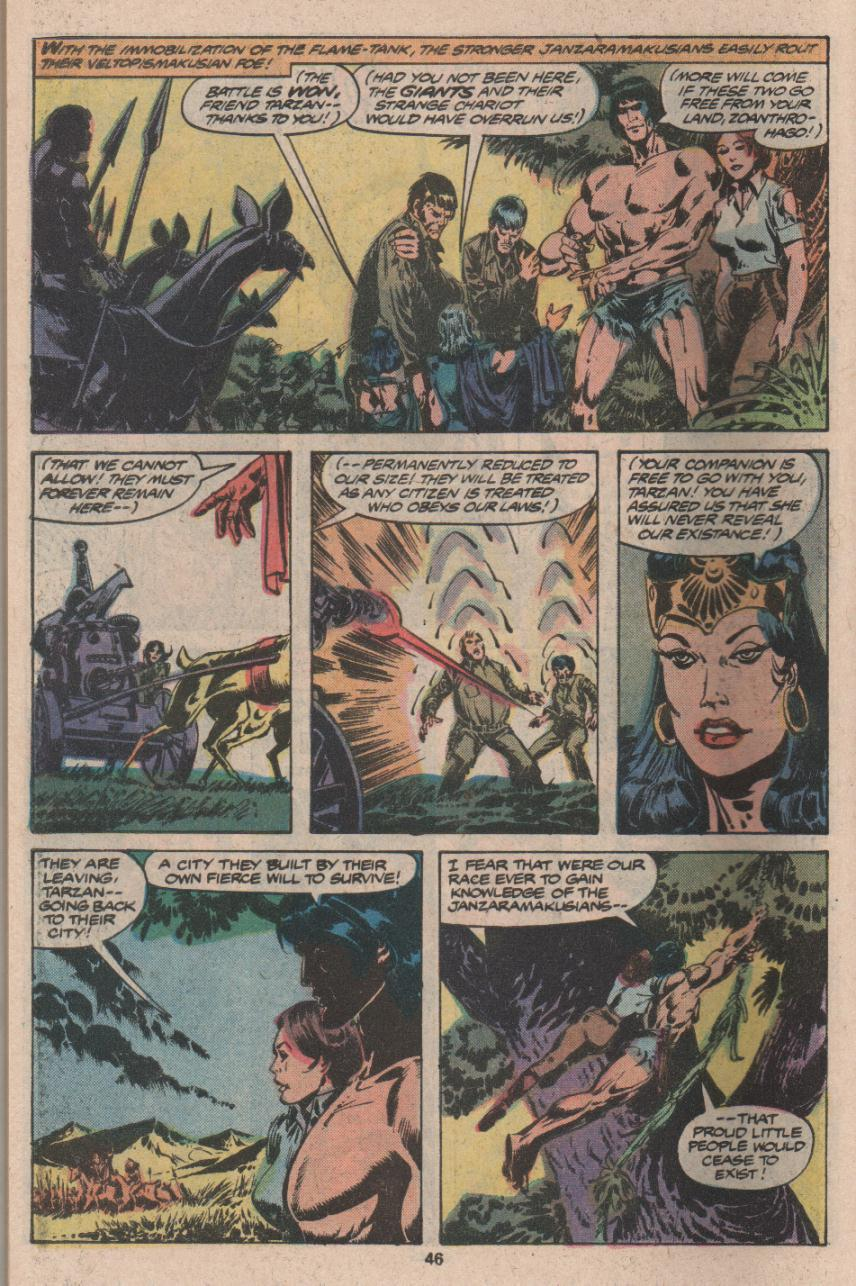 Read online Tarzan (1977) comic -  Issue # _Annual 3 - 35