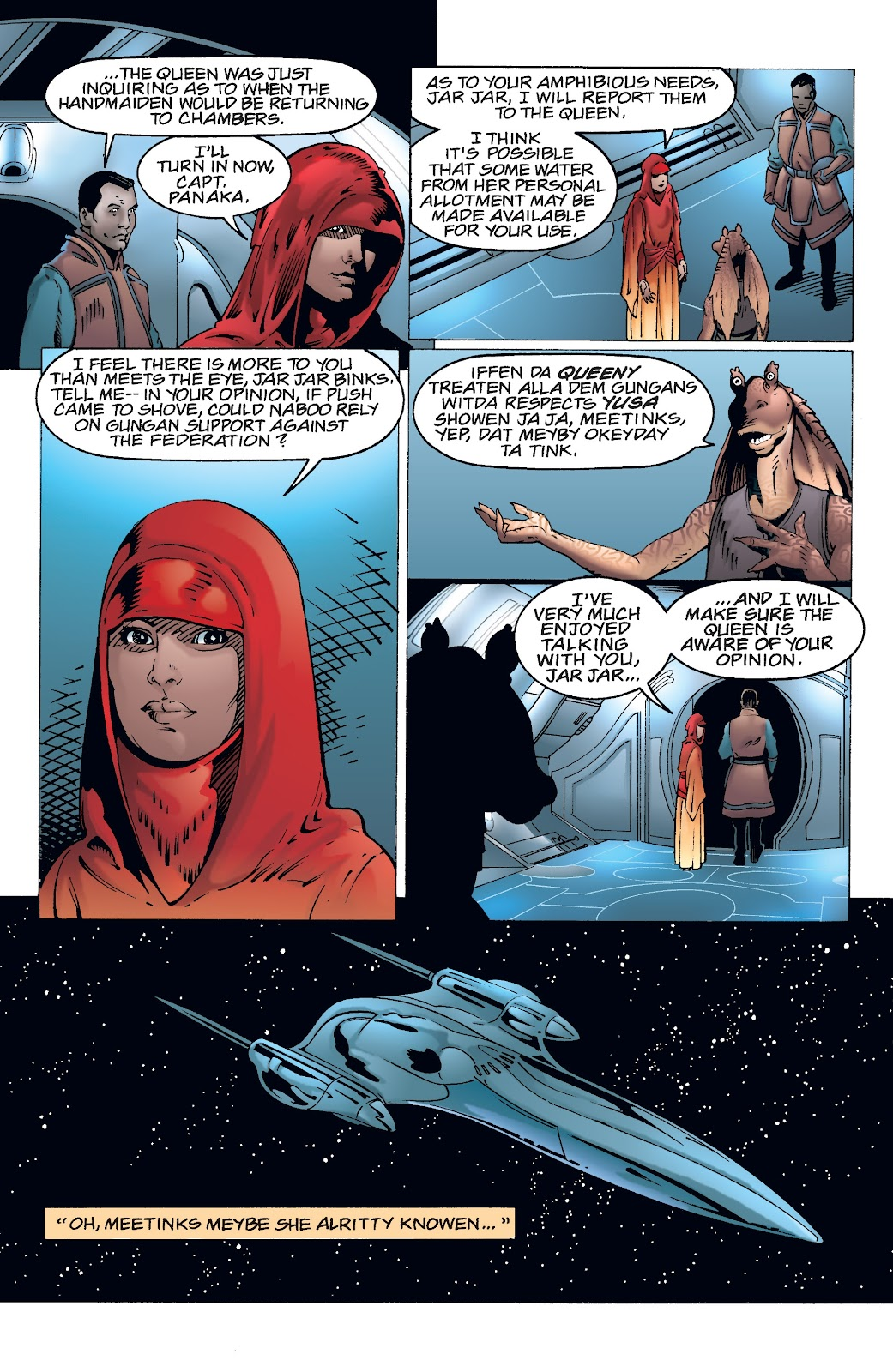 Read online Star Wars Legends: Rise of the Sith - Epic Collection comic -  Issue # TPB 2 (Part 5) - 21