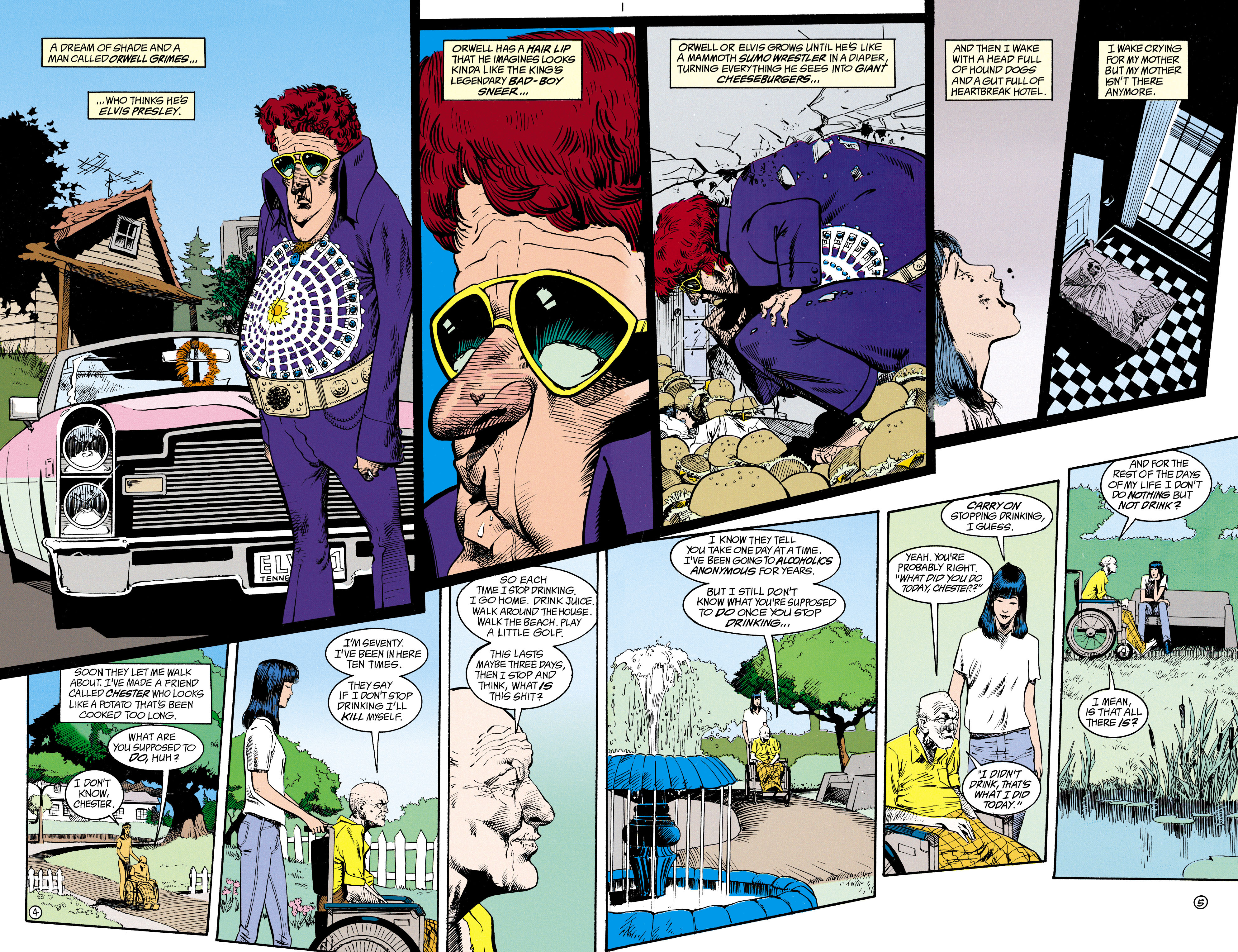 Read online Shade, the Changing Man comic -  Issue #15 - 4