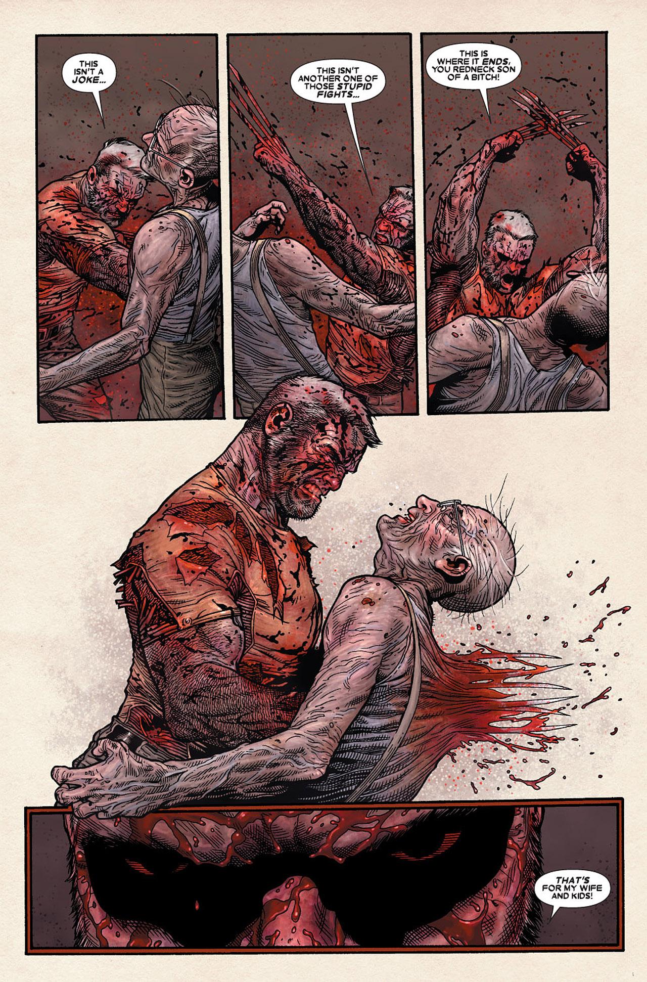 Read online Wolverine: Old Man Logan comic -  Issue # Full - 184