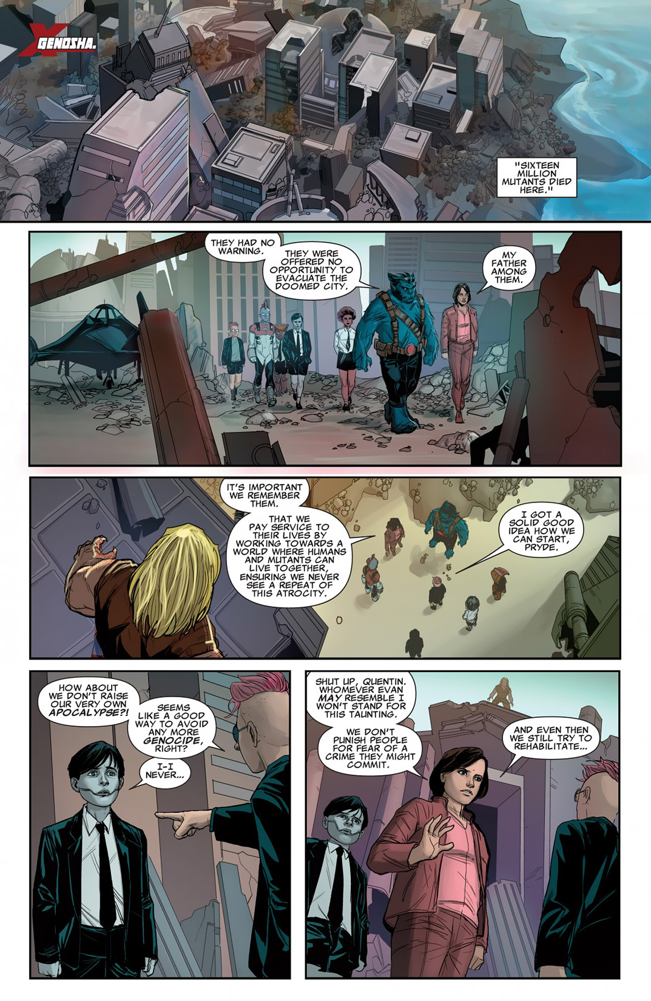 Read online Uncanny X-Force (2010) comic -  Issue #26 - 12