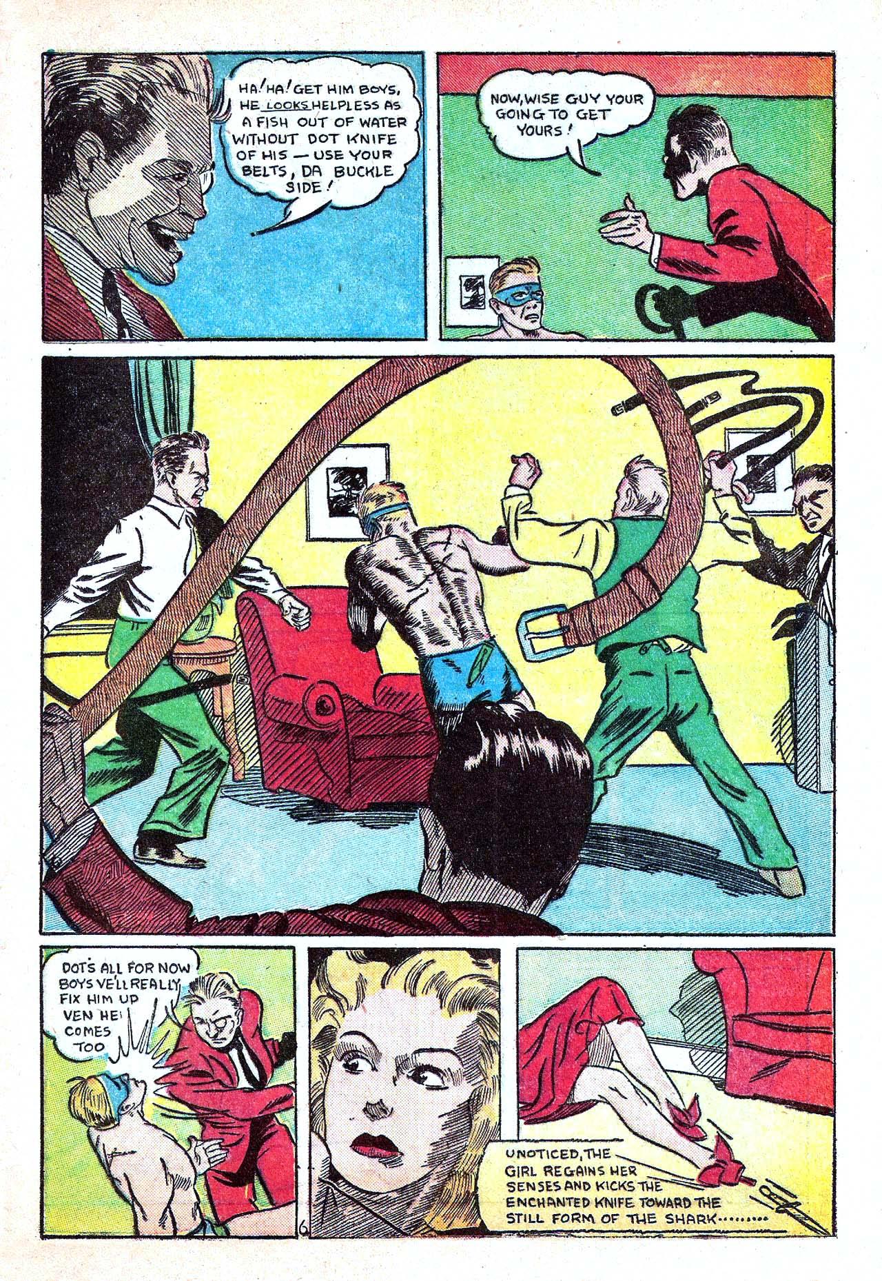 Read online Amazing Man Comics comic -  Issue #11 - 49