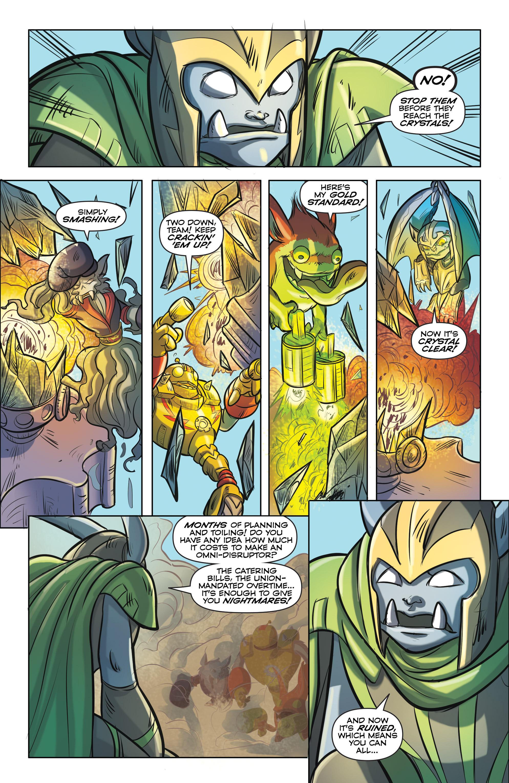Read online Skylanders comic -  Issue #5 - 16