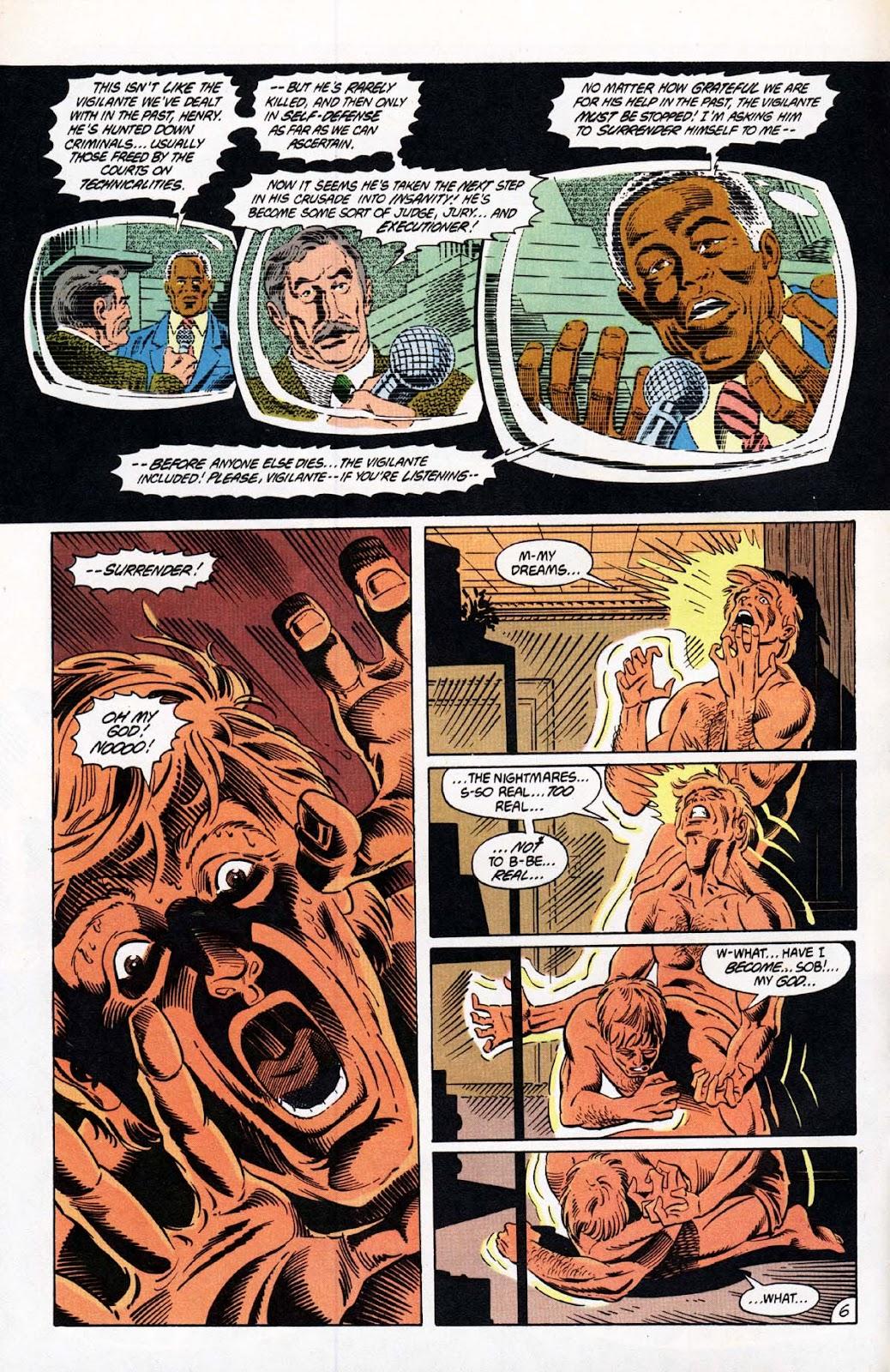 Vigilante (1983) issue 20 - Page 7