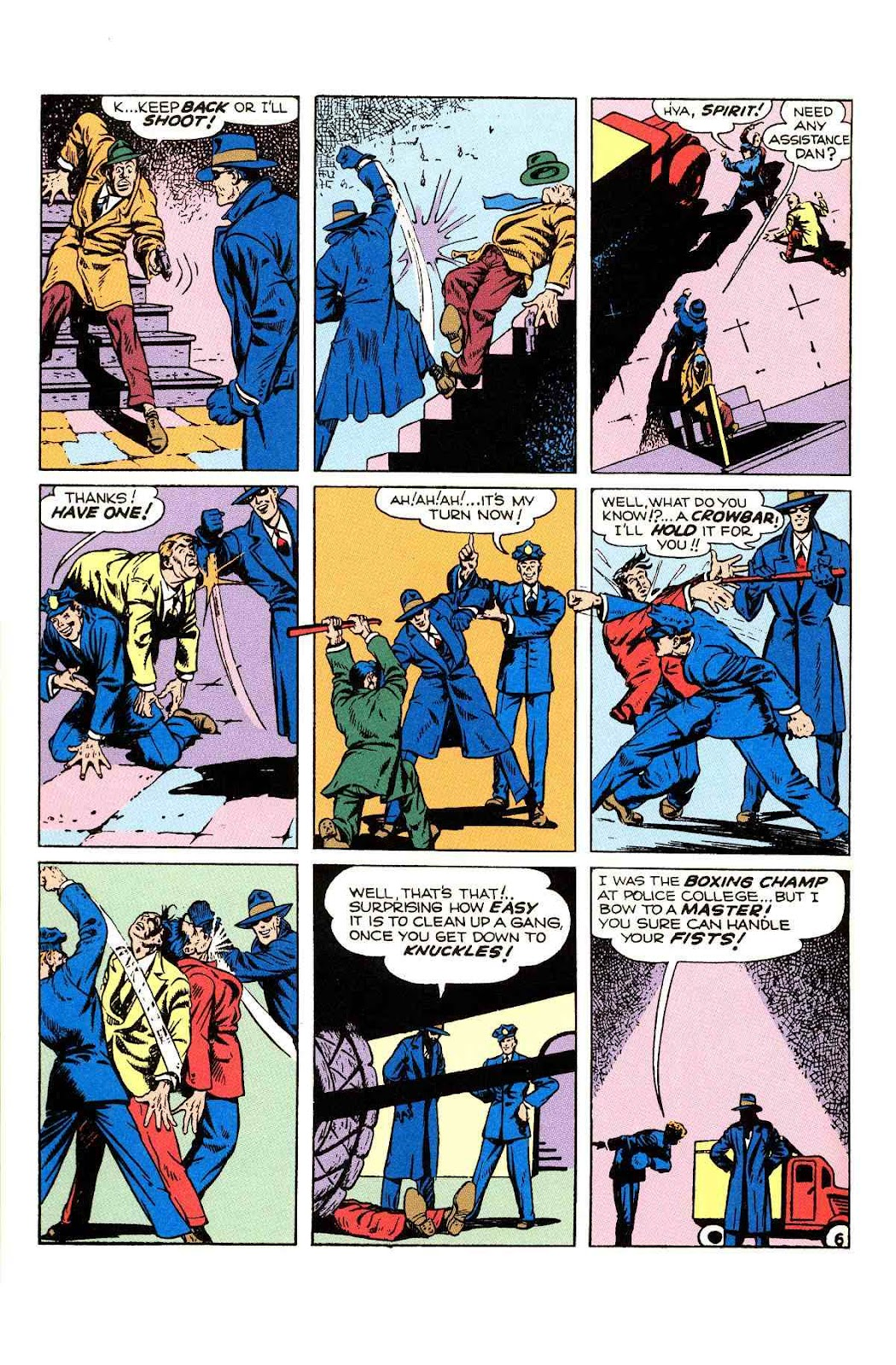 Read online Will Eisner's The Spirit Archives comic -  Issue # TPB 2 (Part 1) - 14