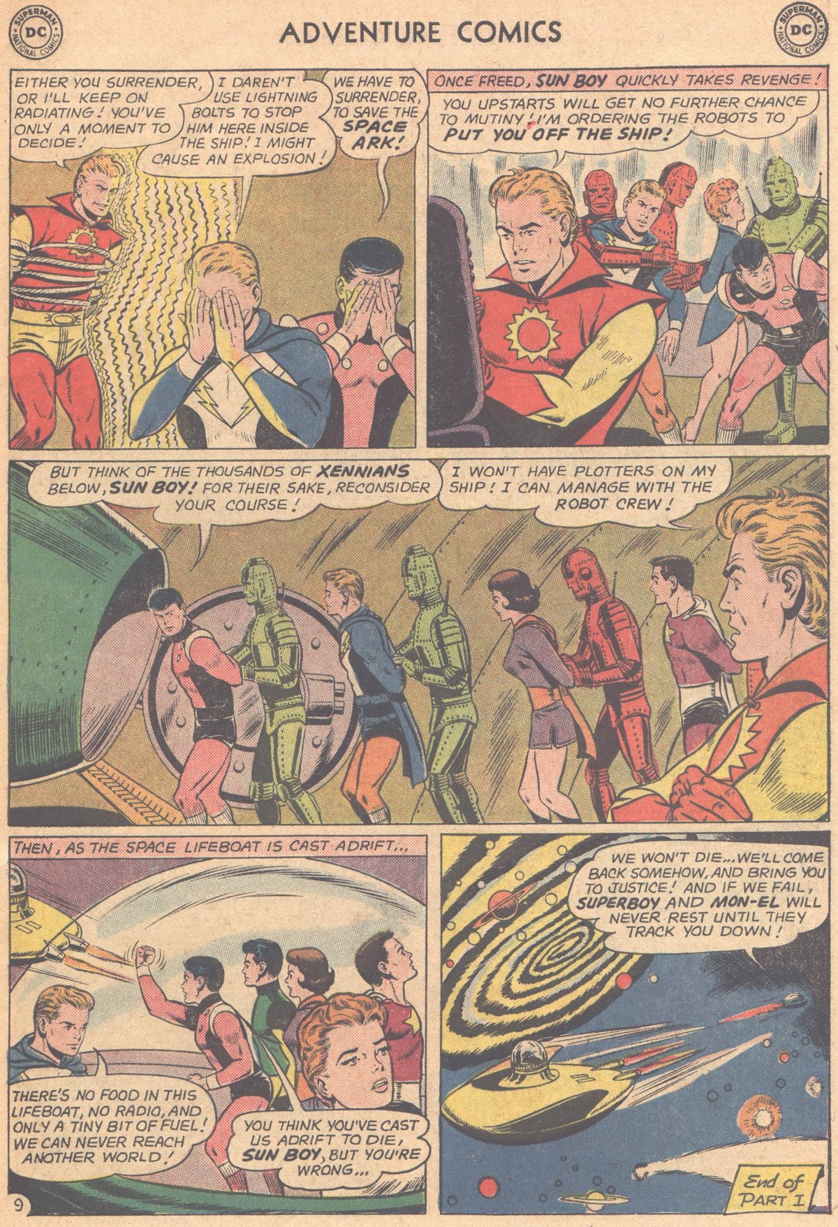 Read online Adventure Comics (1938) comic -  Issue #318 - 11
