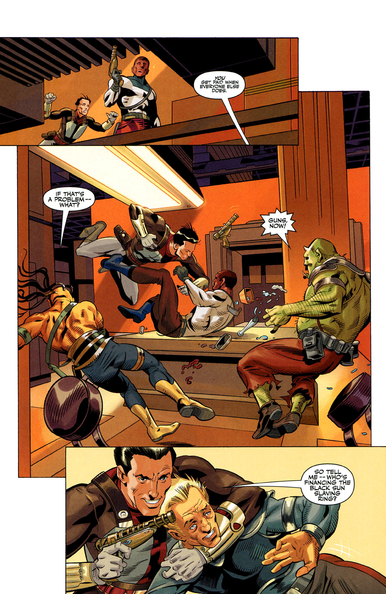 Read online Star Wars: The Old Republic - The Lost Suns comic -  Issue #1 - 11