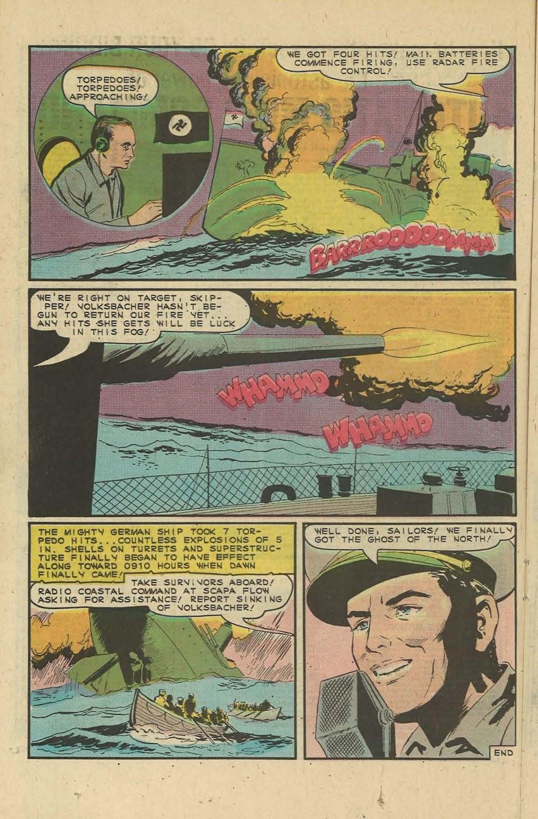 Read online Fightin' Navy comic -  Issue #127 - 16