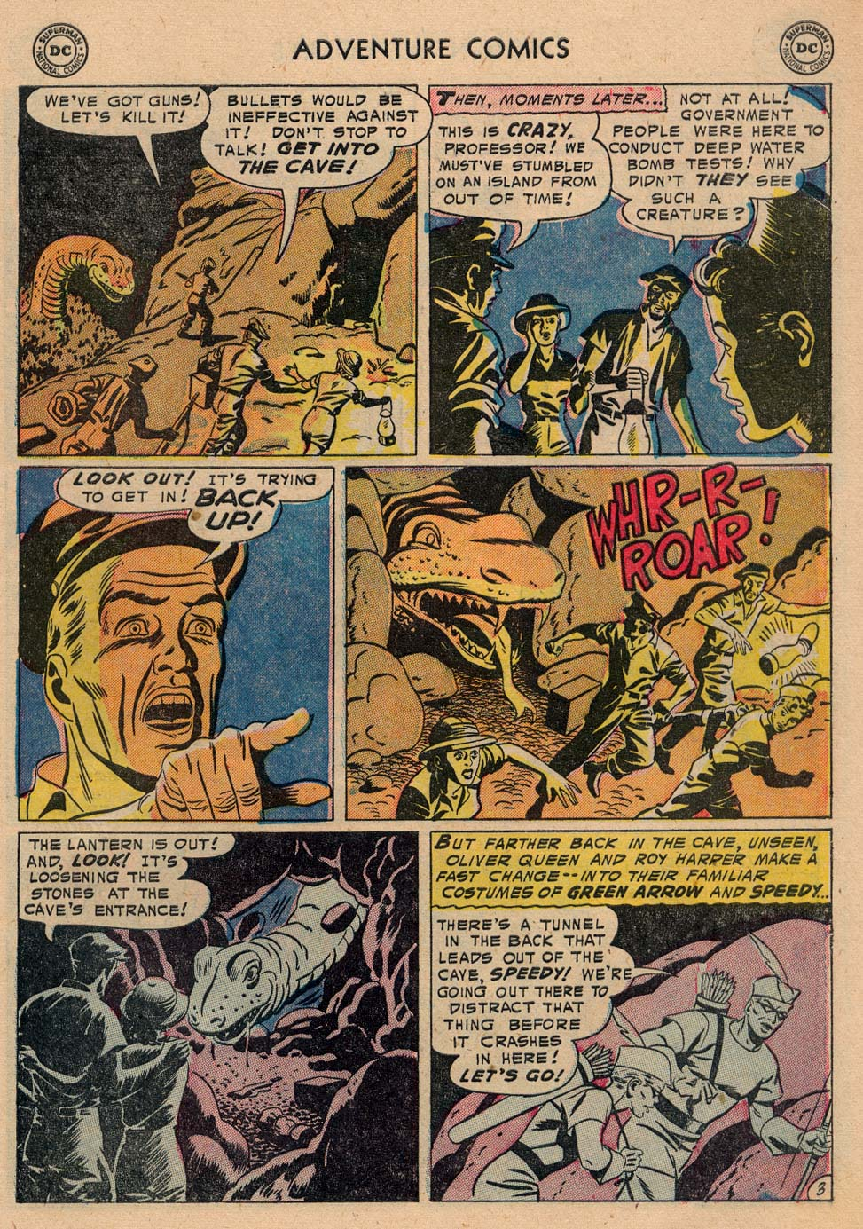 Read online Adventure Comics (1938) comic -  Issue #208 - 27