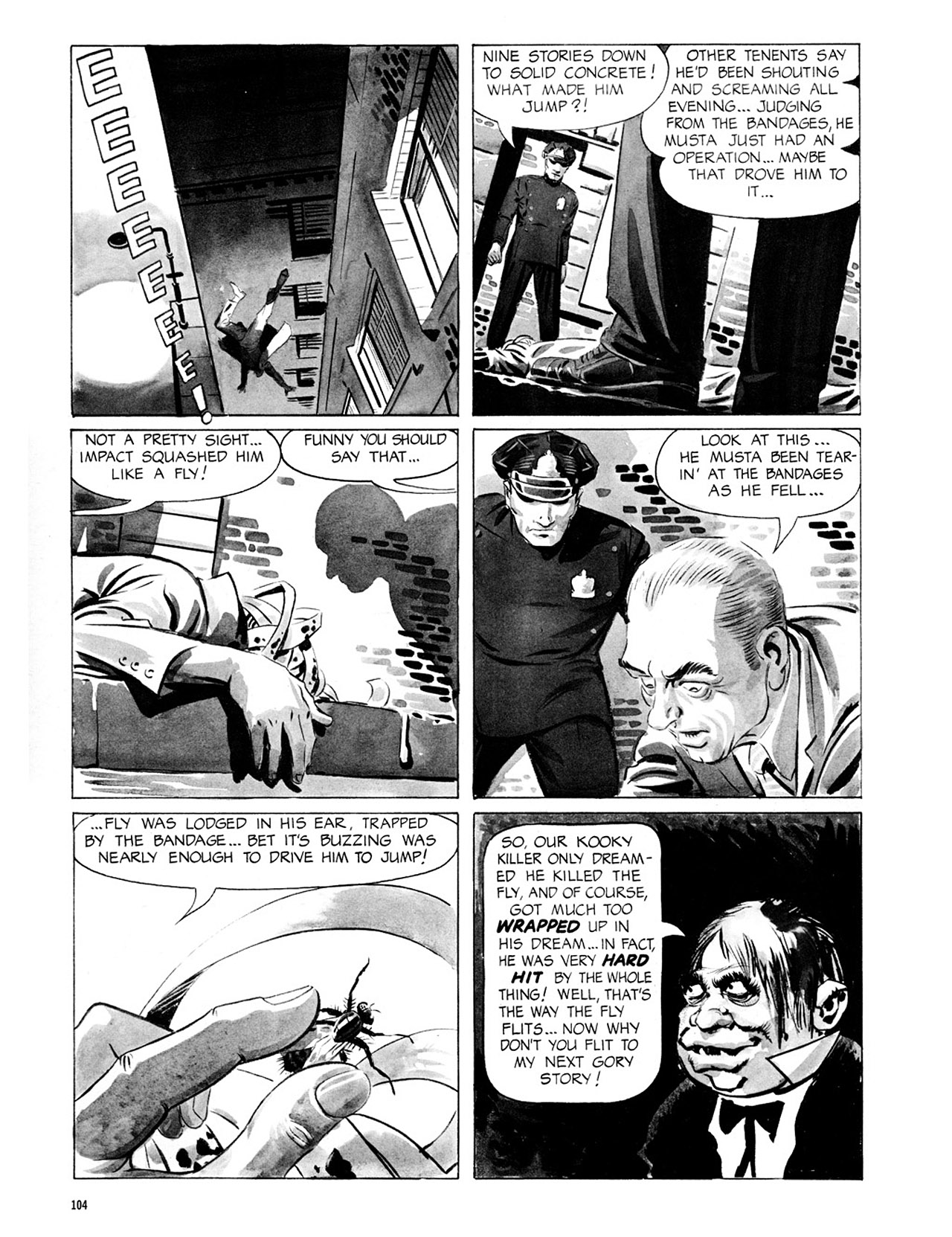 Read online Eerie Archives comic -  Issue # TPB 2 - 105