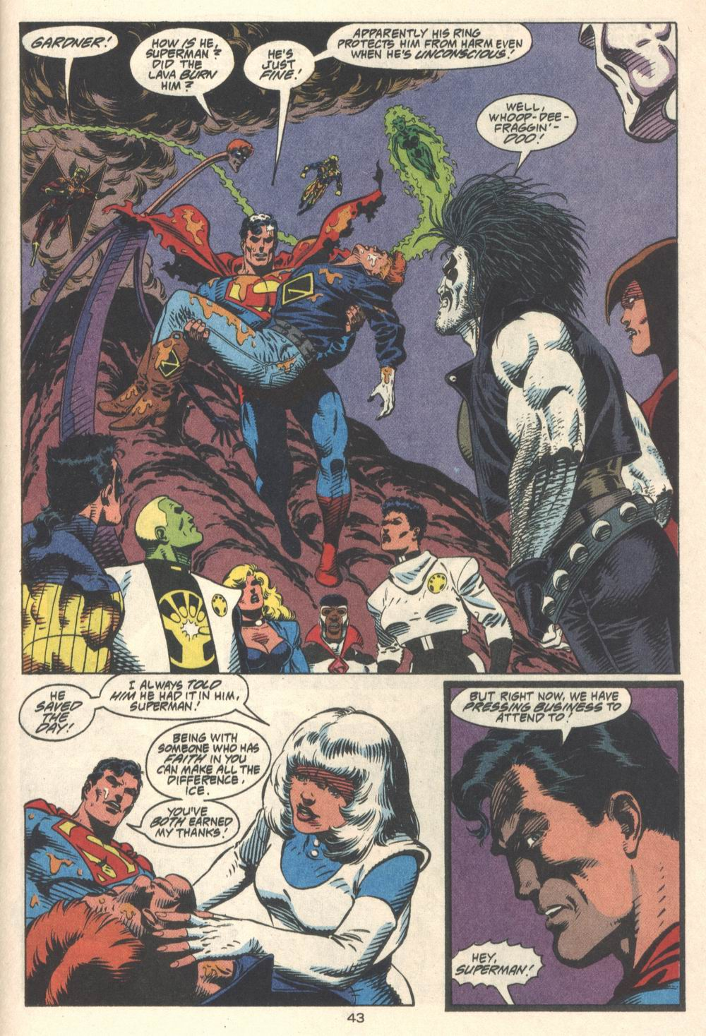Read online Adventures of Superman (1987) comic -  Issue #Adventures of Superman (1987) _Annual 4 - 44