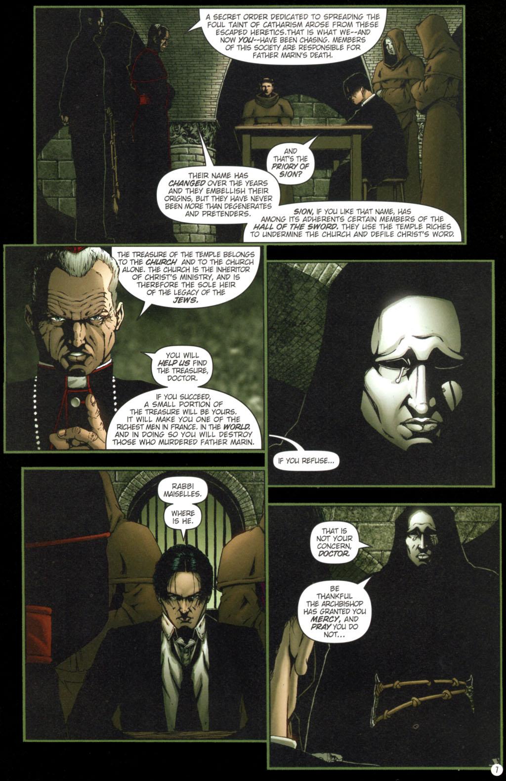 Read online Rex Mundi comic -  Issue #11 - 11