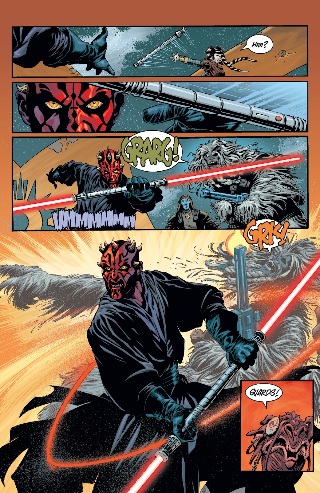 Read online Star Wars Legends: Rise of the Sith - Epic Collection comic -  Issue # TPB 2 (Part 2) - 76