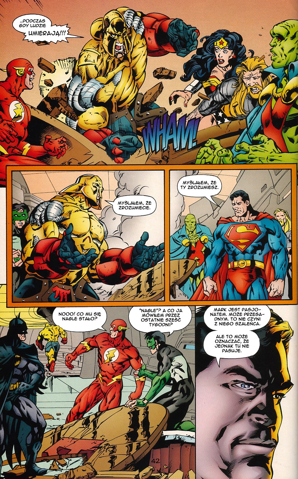 Read online JLA Superpower comic -  Issue # Full - 42