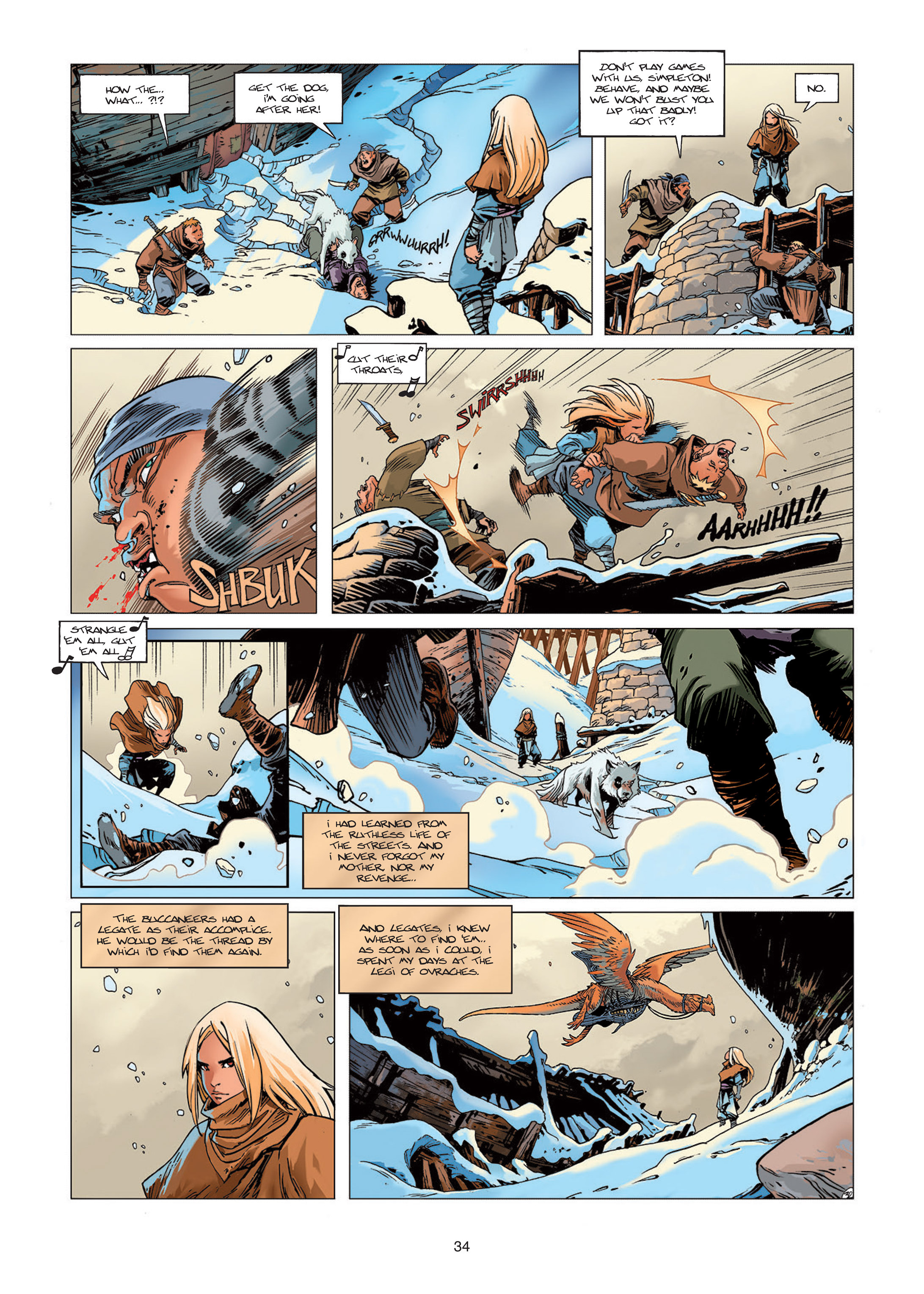 Read online Sangre Vol. 1: Sangre the Survivor comic -  Issue # Full - 34