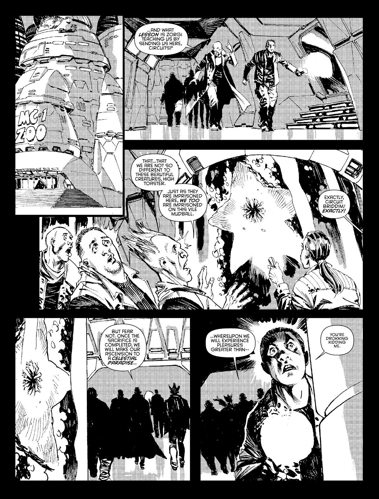 Judge Dredd Megazine (Vol. 5) Issue #381 #180 - English 29