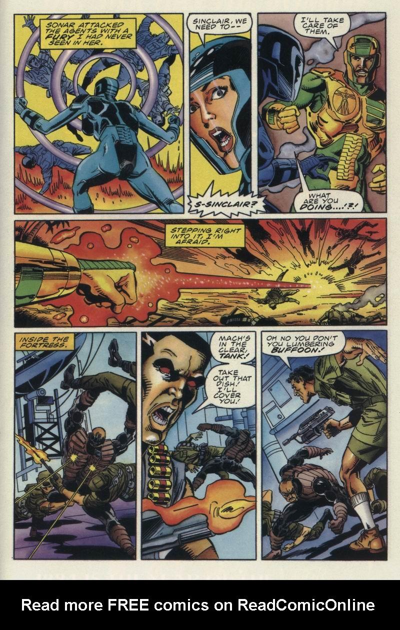 Read online Secret Weapons comic -  Issue #12 - 19