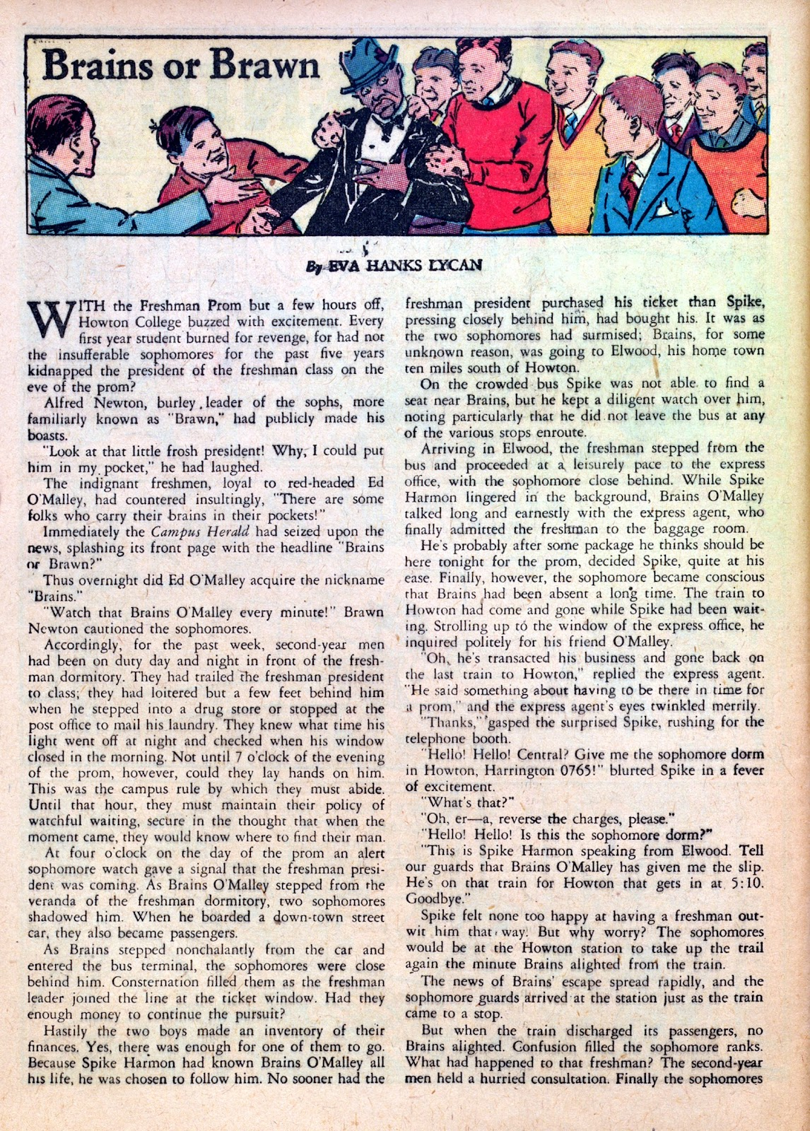 Read online Famous Funnies comic -  Issue #45 - 60