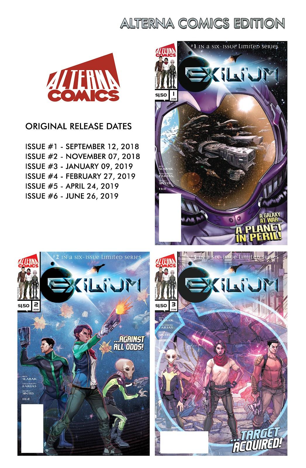 Exilium issue 6 - Page 54