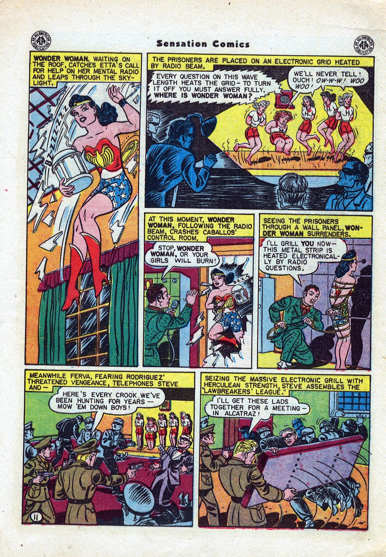 Read online Sensation (Mystery) Comics comic -  Issue #46 - 13