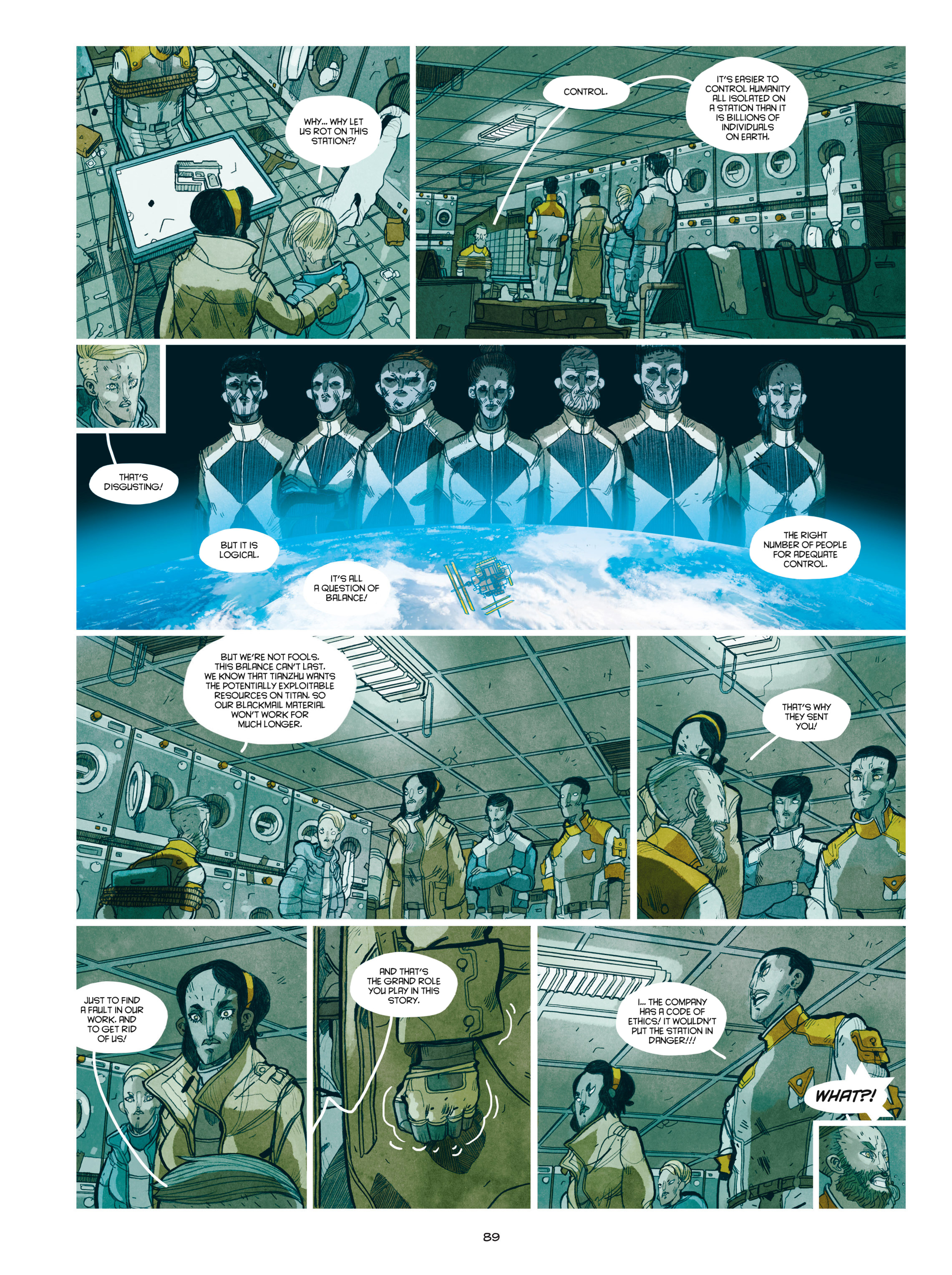 Read online Shangri-La comic -  Issue # Full - 90