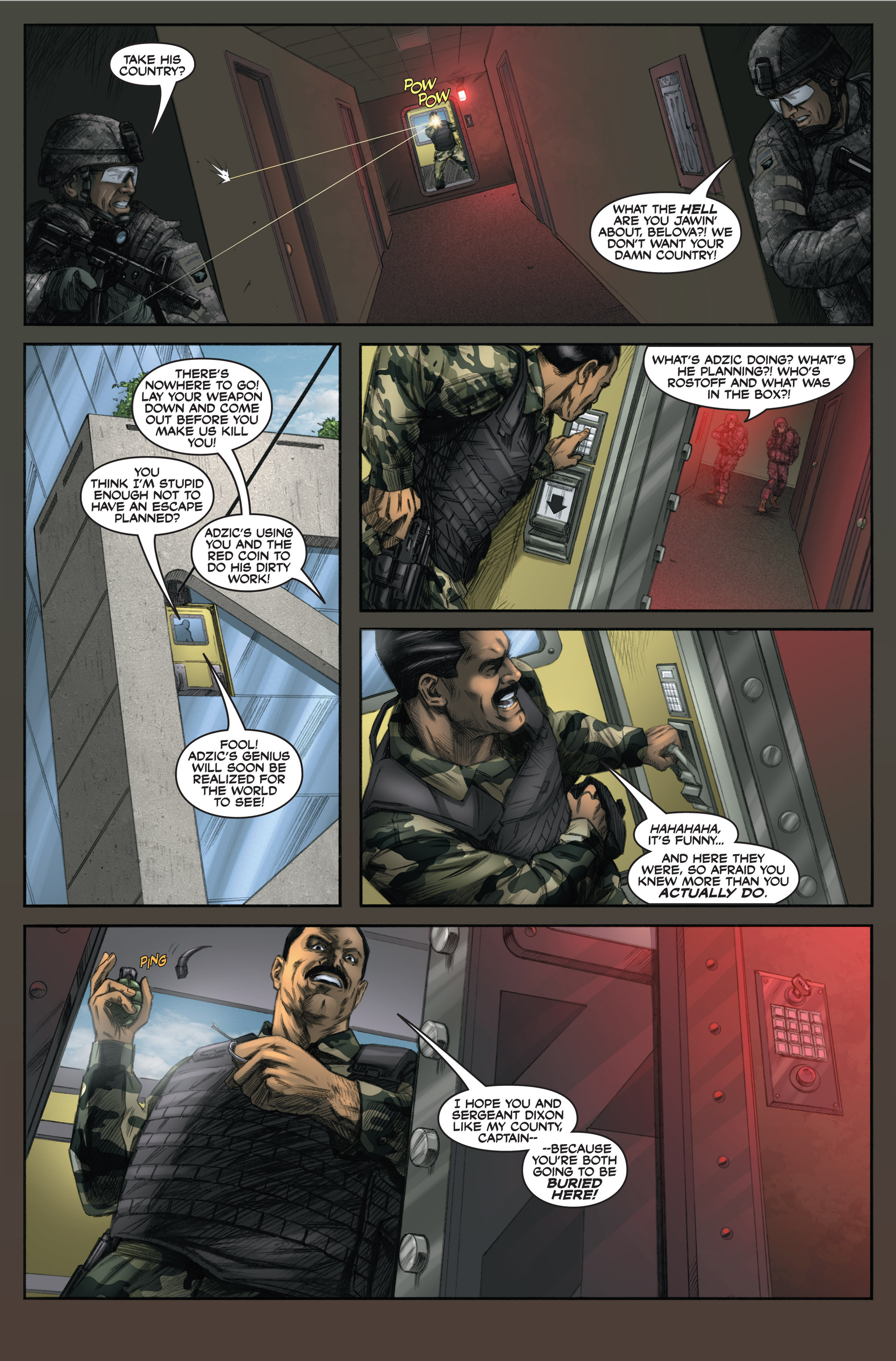 Read online America's Army comic -  Issue #6 - 24