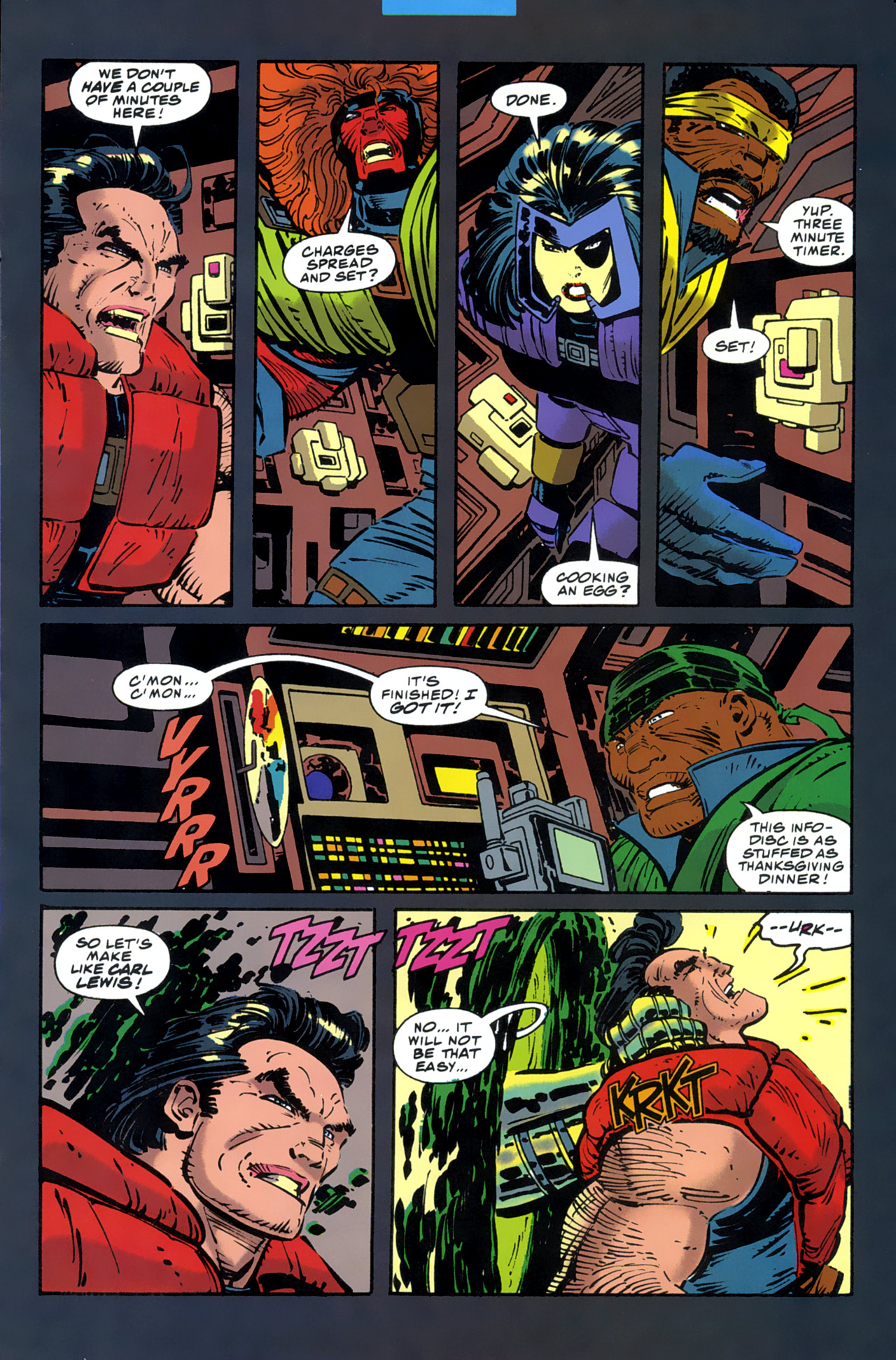 Read online Cable - Blood and Metal comic -  Issue #2 - 33