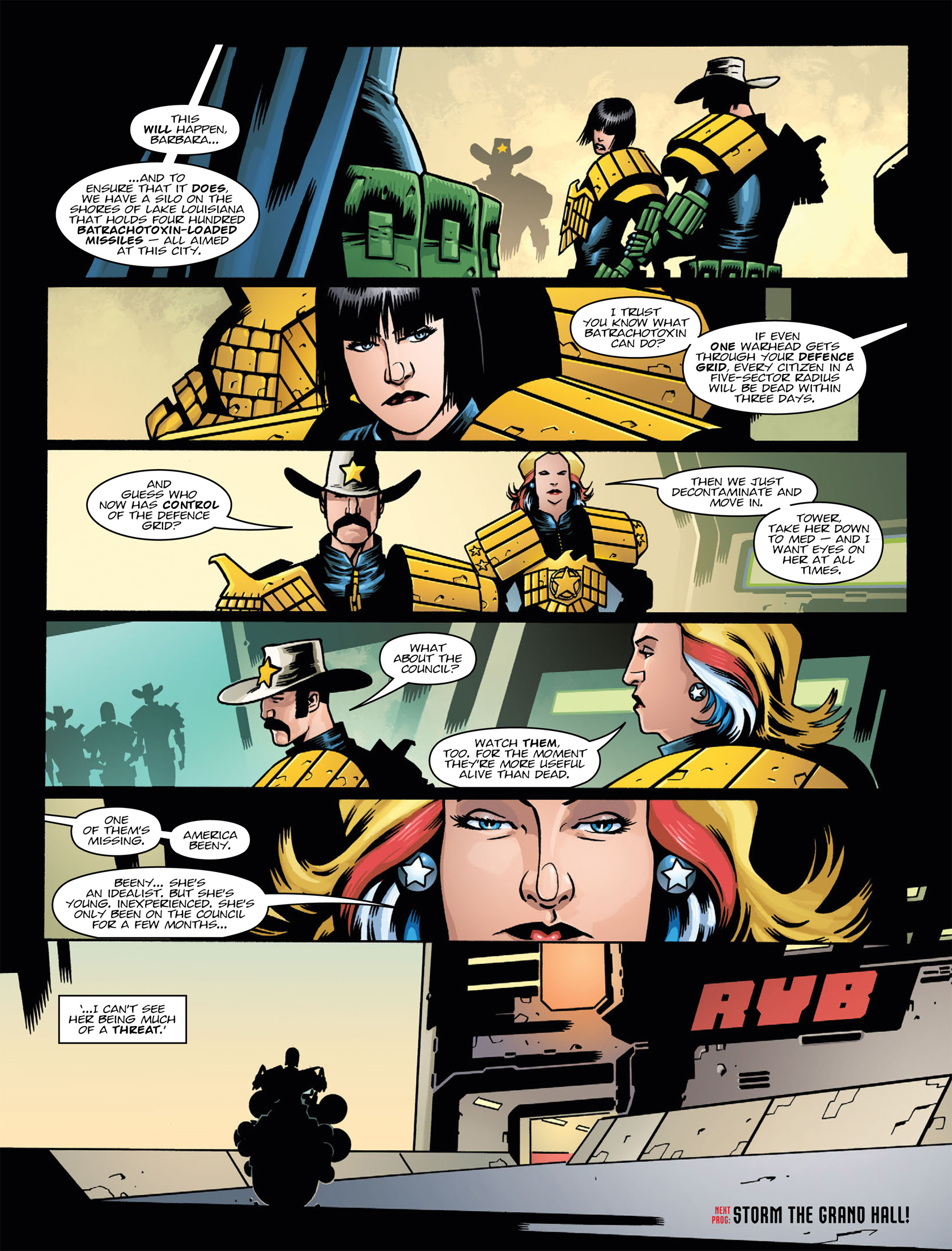 Read online 2000 AD comic -  Issue #1987 - 8