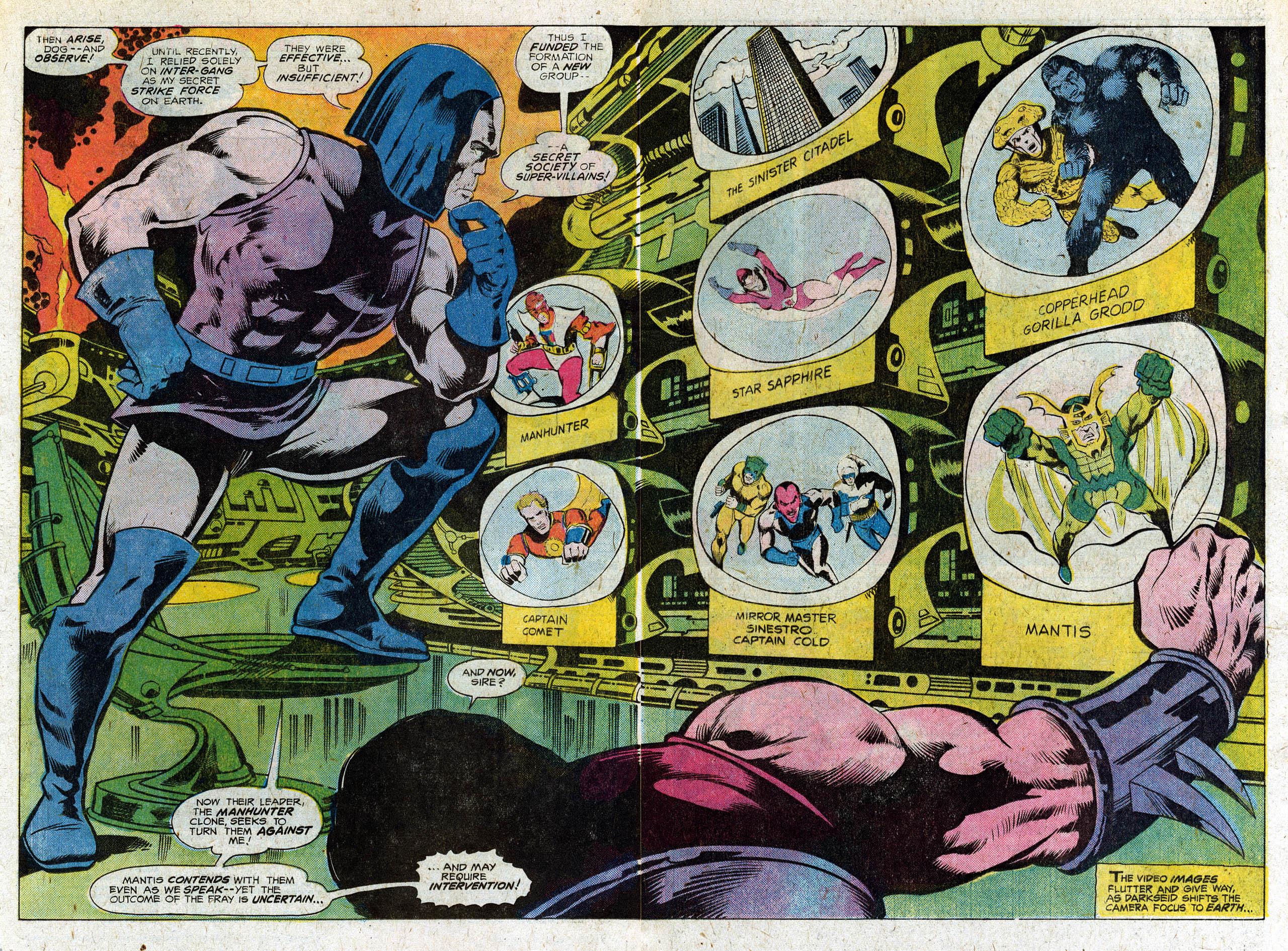 Read online Secret Society of Super-Villains comic -  Issue #3 - 4