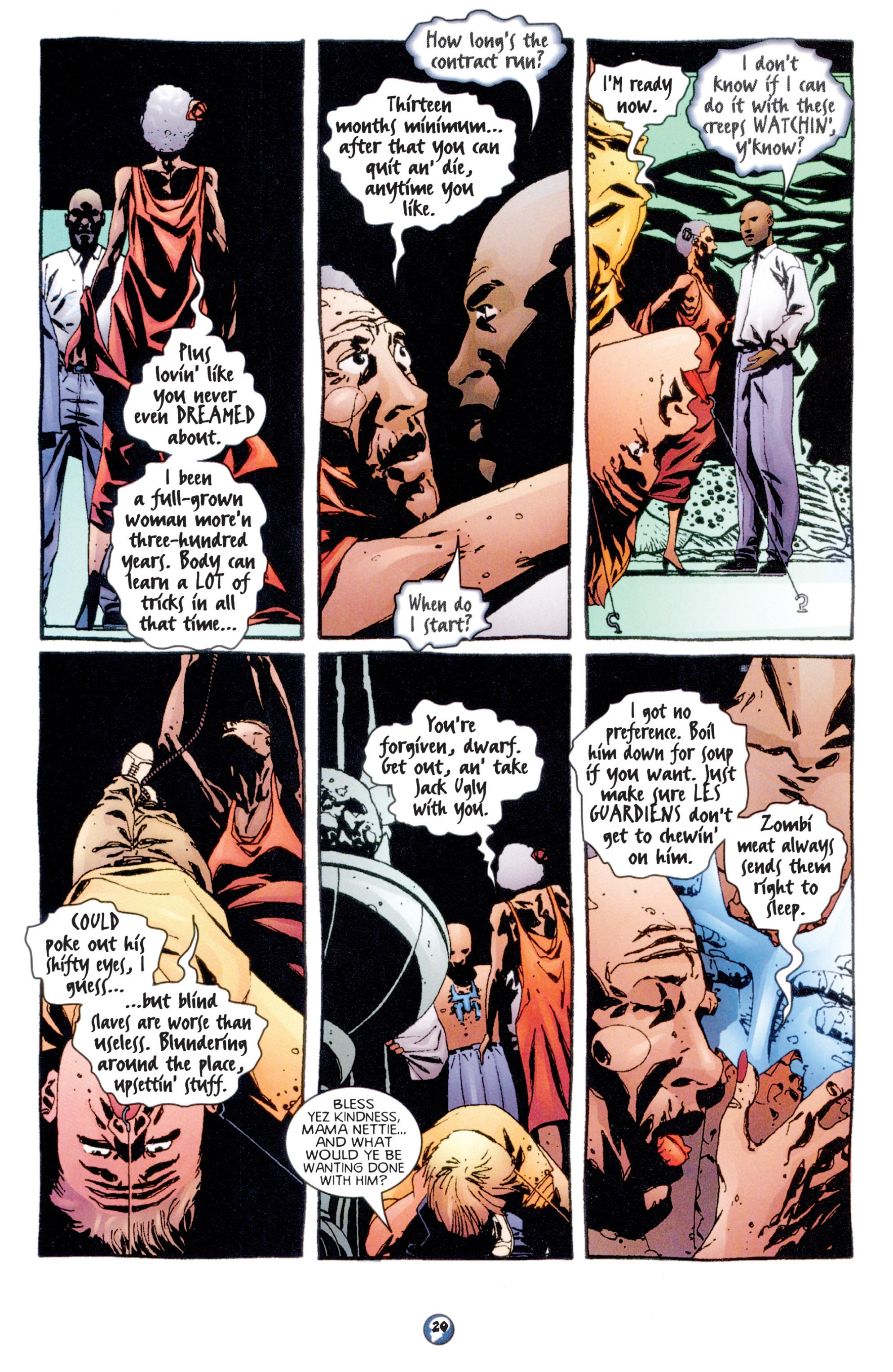 Read online Shadowman (1997) comic -  Issue #7 - 16