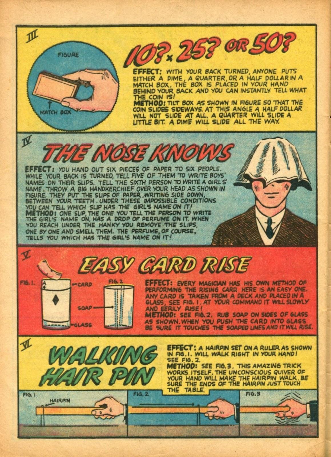 Read online Super-Magician Comics comic -  Issue #5 - 61