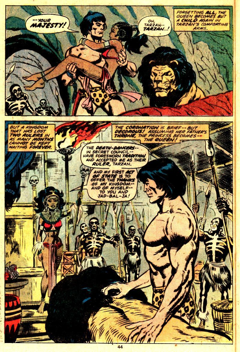 Read online Tarzan (1977) comic -  Issue # _Annual 2 - 34