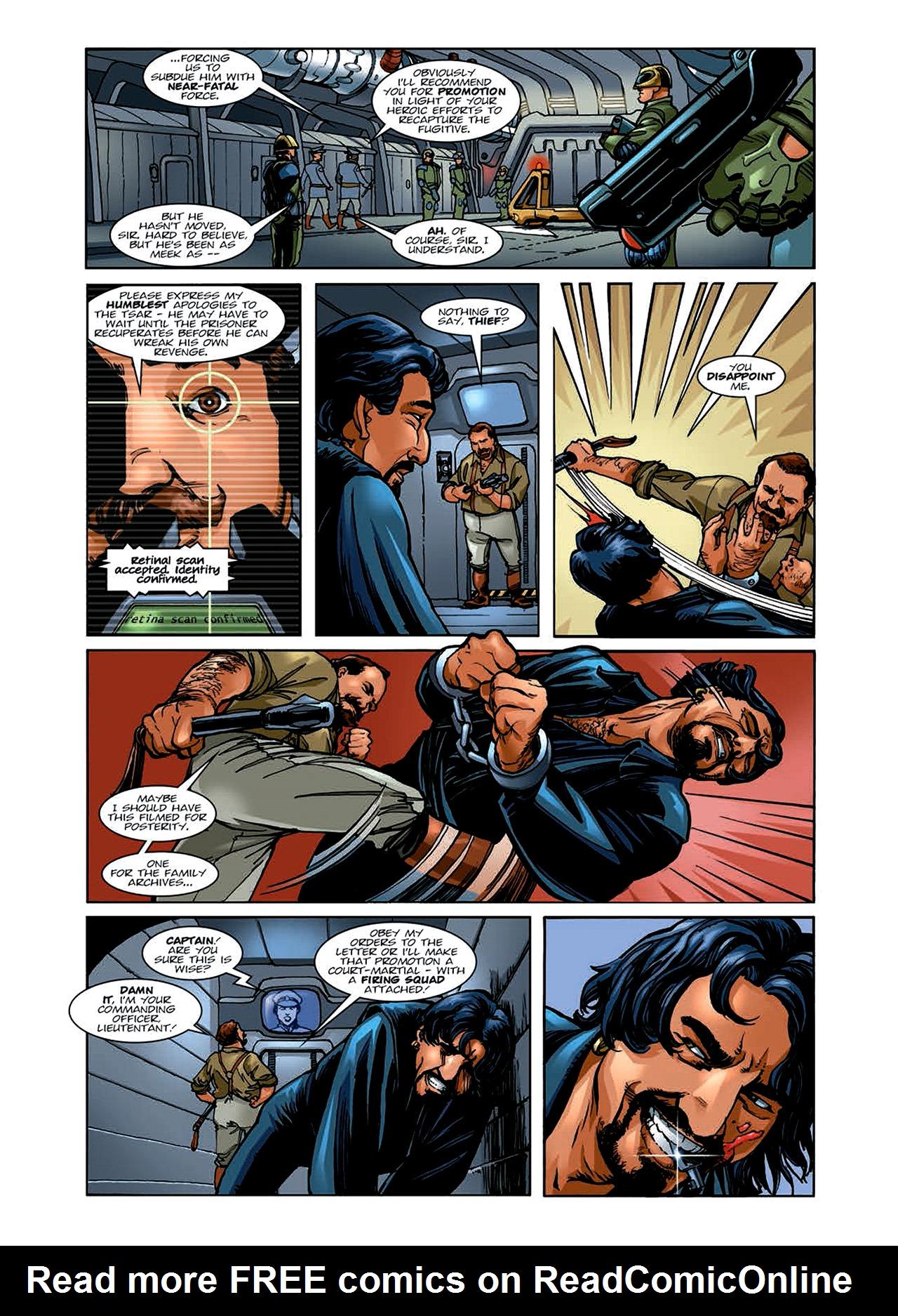 Read online Nikolai Dante comic -  Issue # TPB 6 - 35