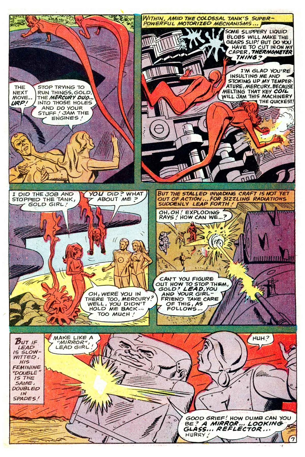 Metal Men (1963) issue 32 - Page 10