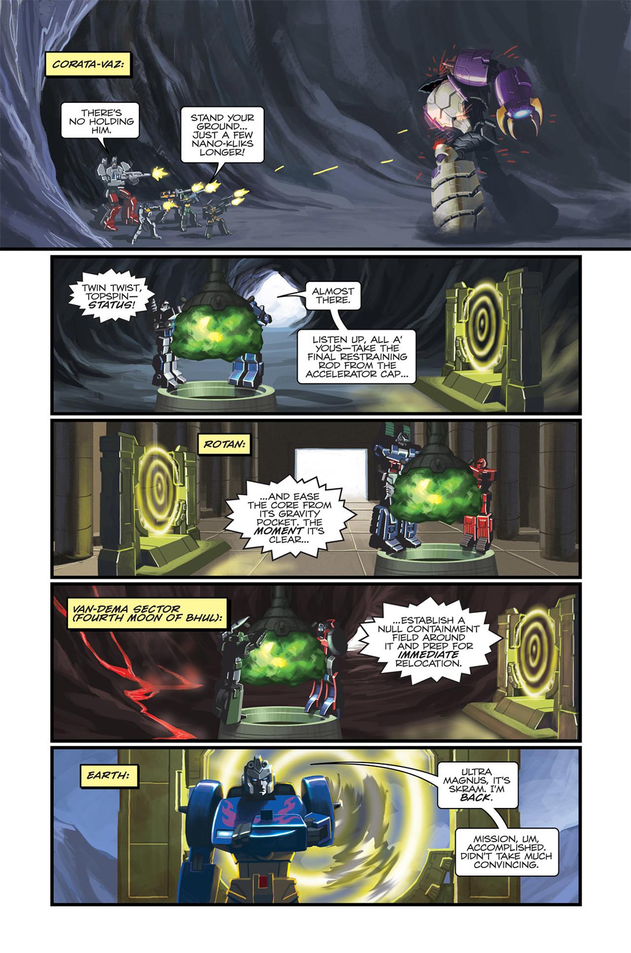 Read online Transformers Spotlight: Sideswipe comic -  Issue # Full - 18