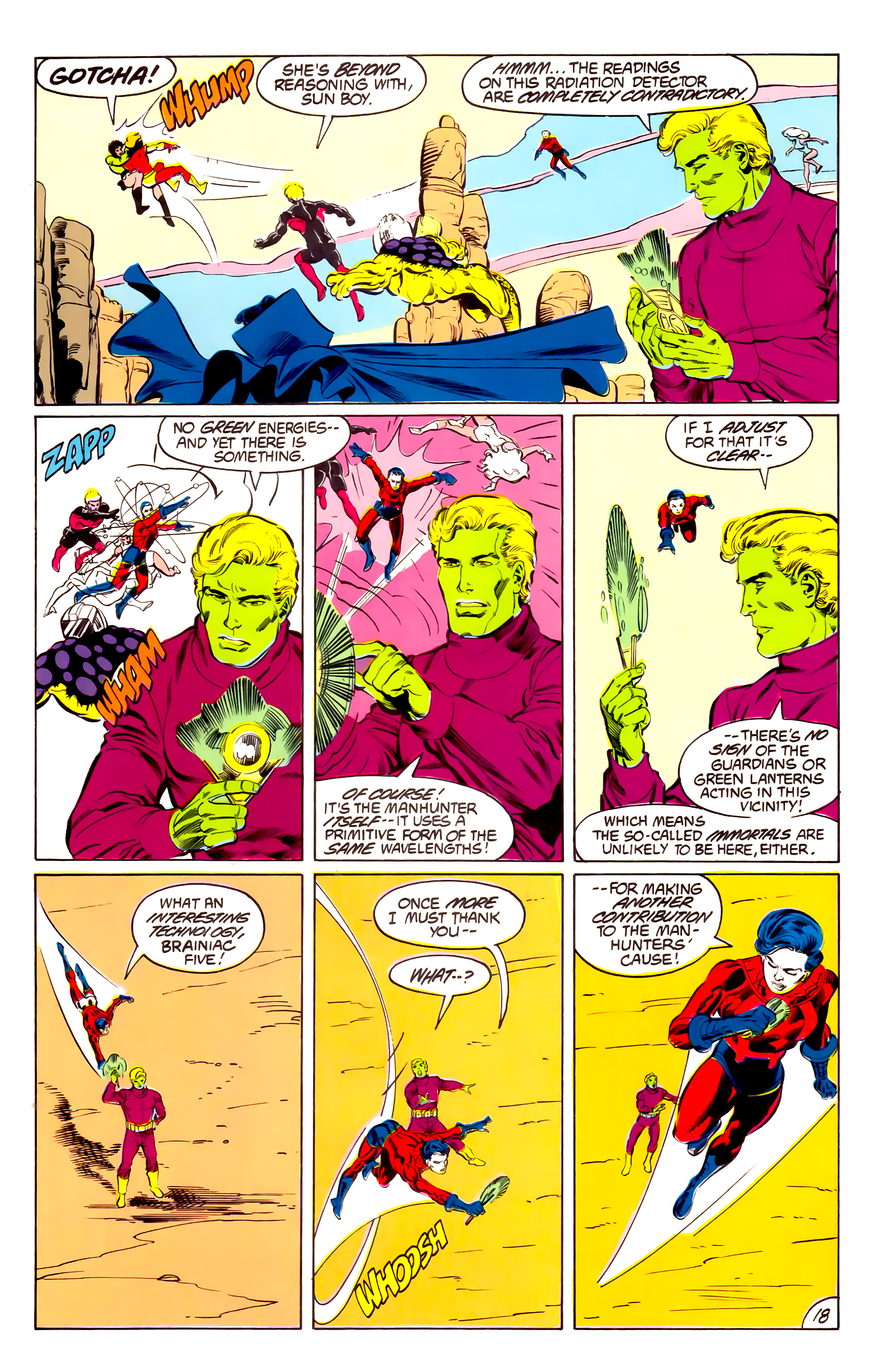 Legion of Super-Heroes (1984) 43 Page 18