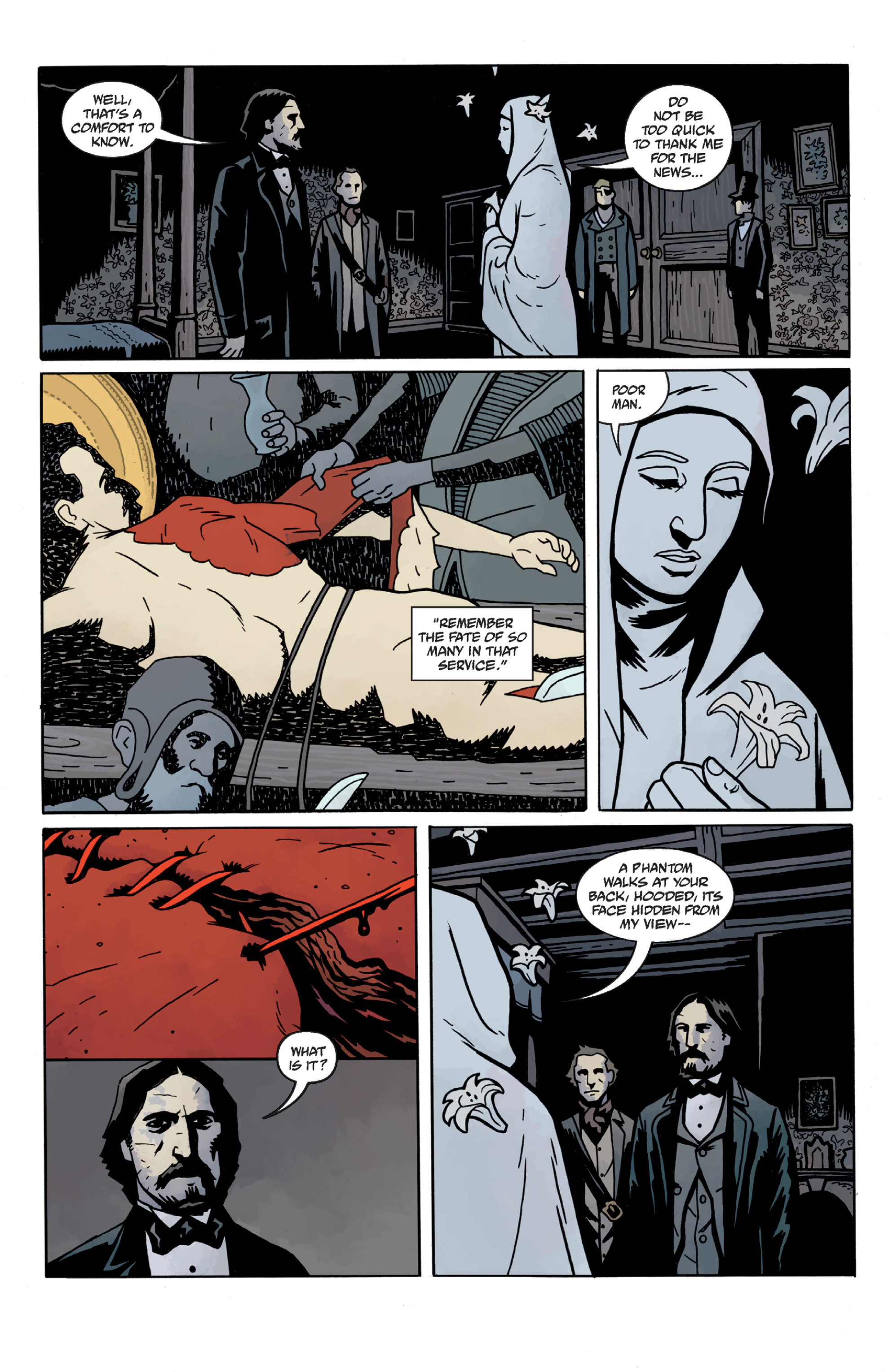 Read online Sir Edward Grey, Witchfinder: In the Service of Angels comic -  Issue # TPB - 48
