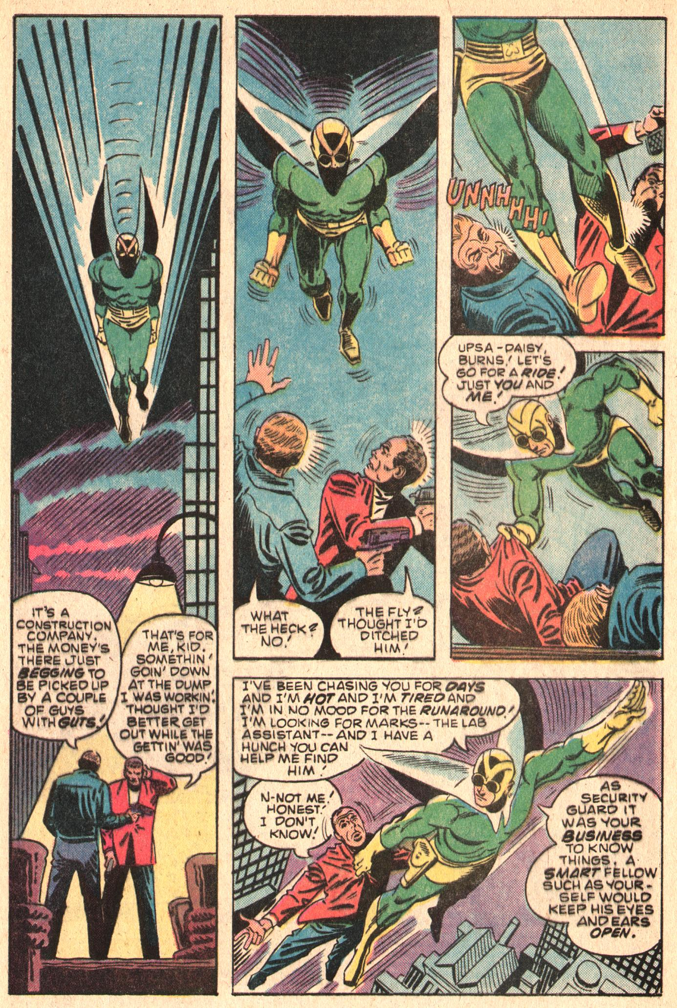 Read online The Fly (1983) comic -  Issue #5 - 4