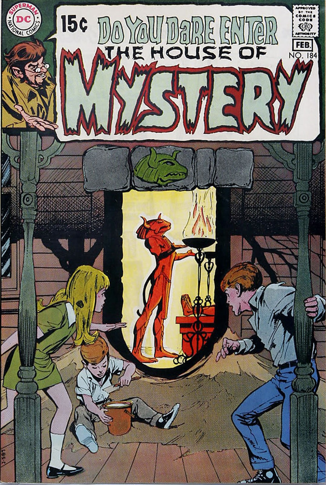 House of Mystery (1951) issue 184 - Page 1
