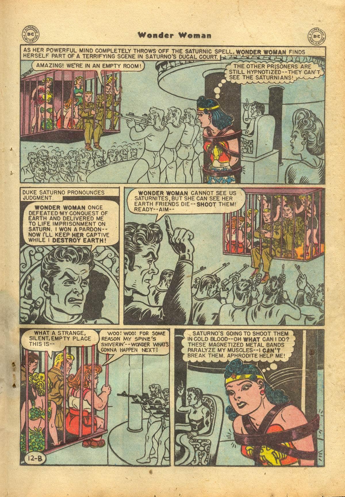 Read online Wonder Woman (1942) comic -  Issue #22 - 31