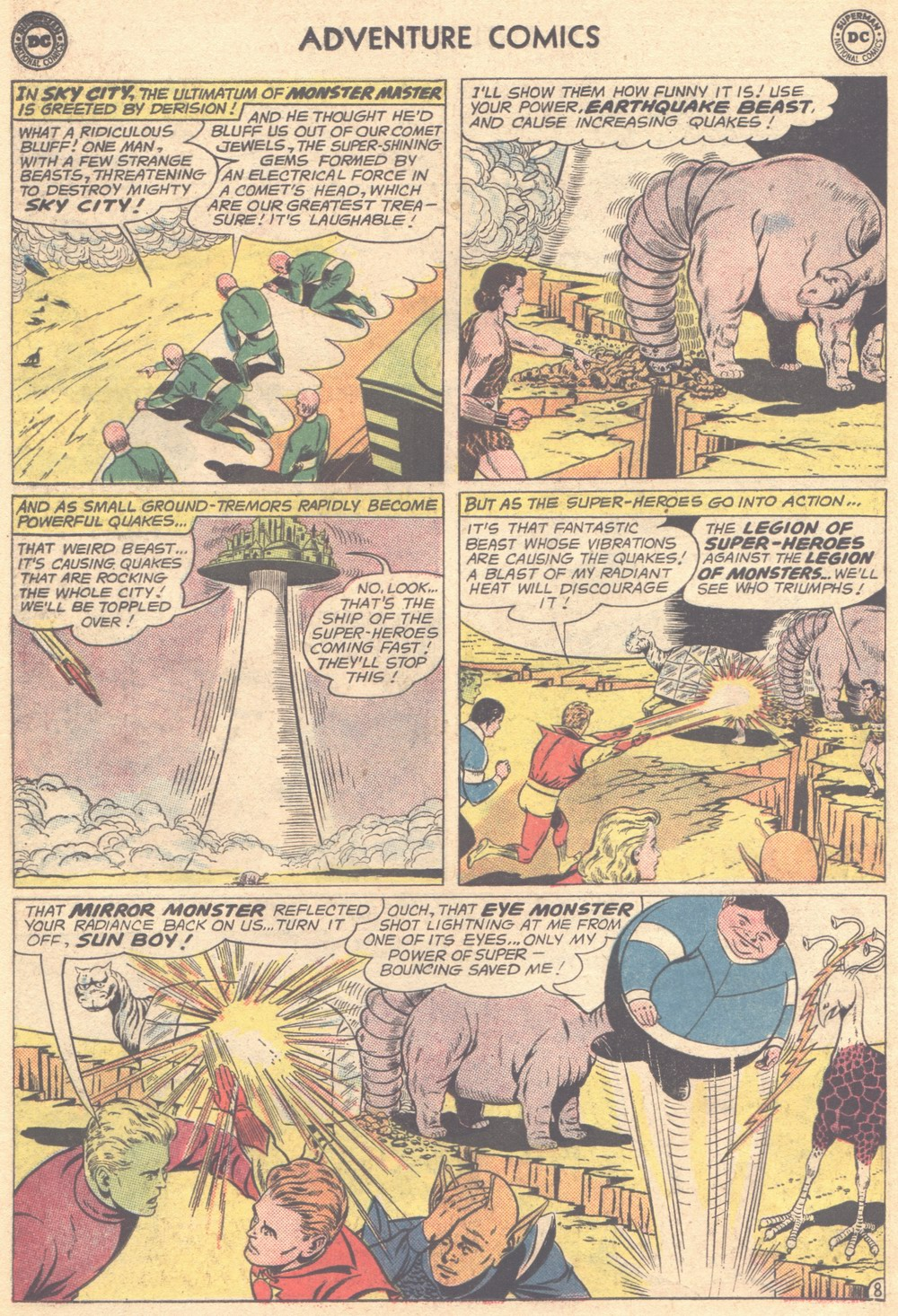 Read online Adventure Comics (1938) comic -  Issue #309 - 10