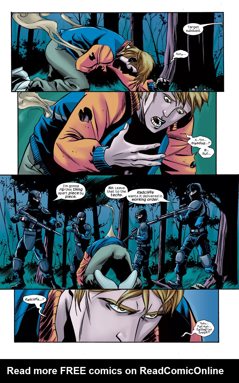 Read online Machine Teen comic -  Issue #3 - 14