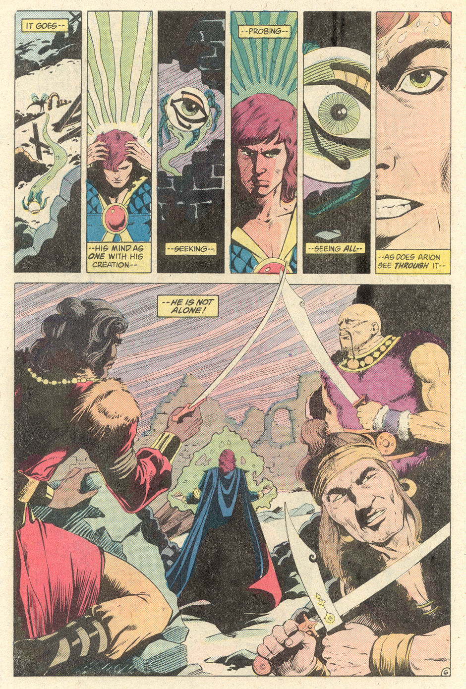 Read online Arion, Lord of Atlantis comic -  Issue #2 - 6