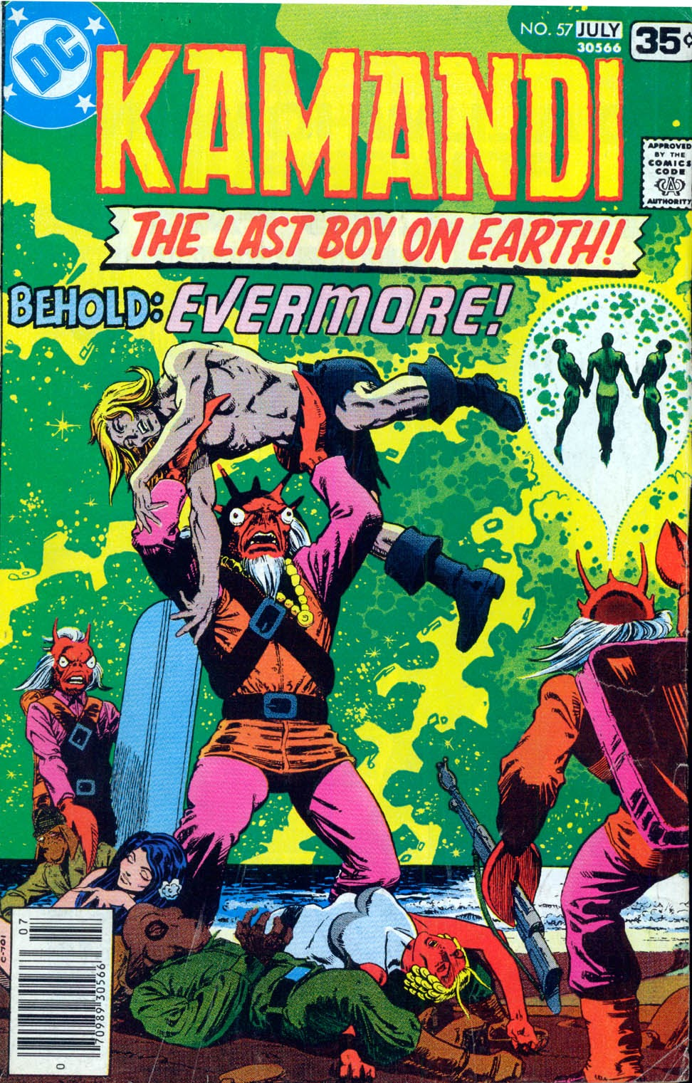 Kamandi, The Last Boy On Earth issue 57 - Page 1