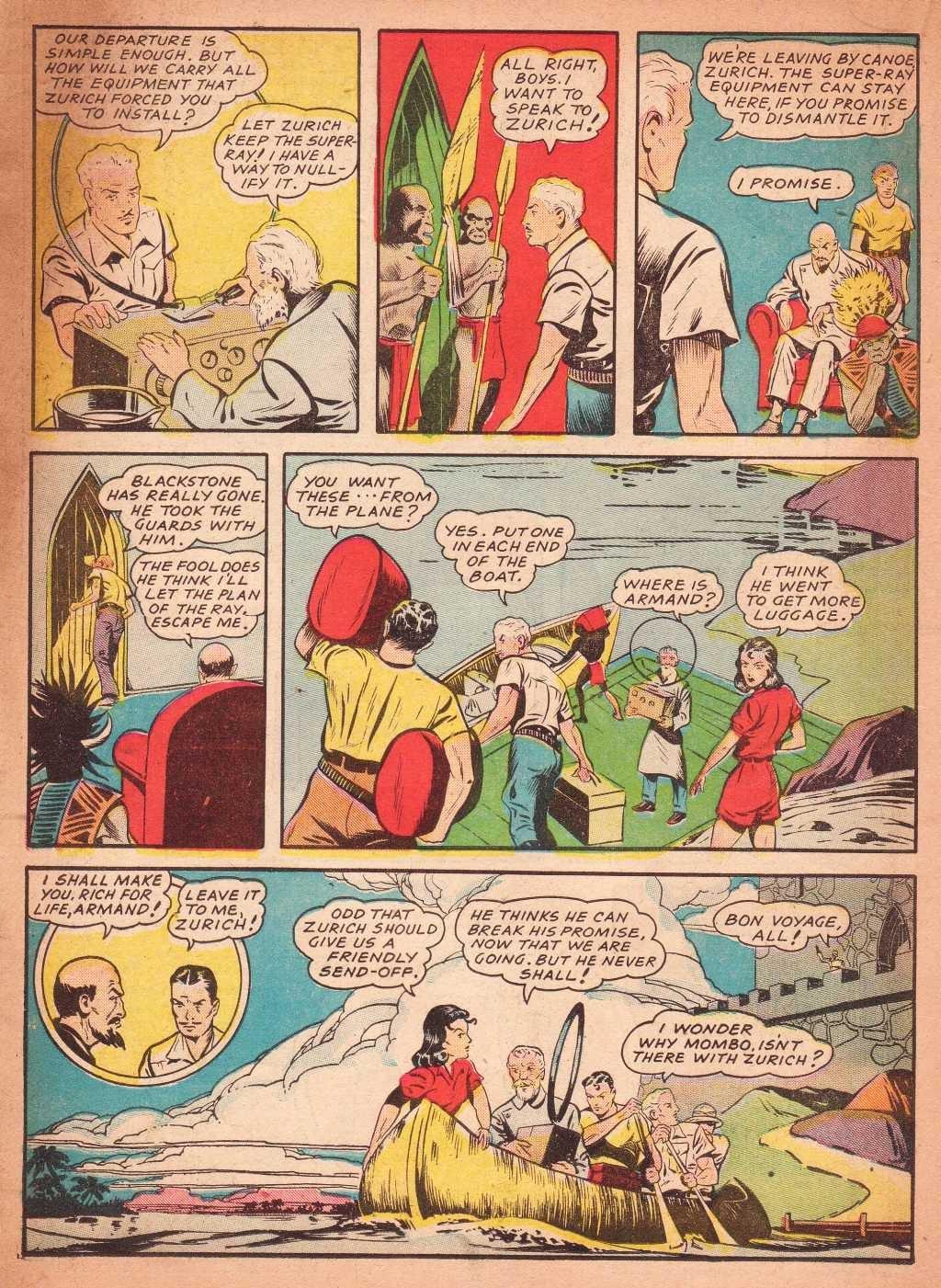 Read online Super-Magician Comics comic -  Issue #2 - 32