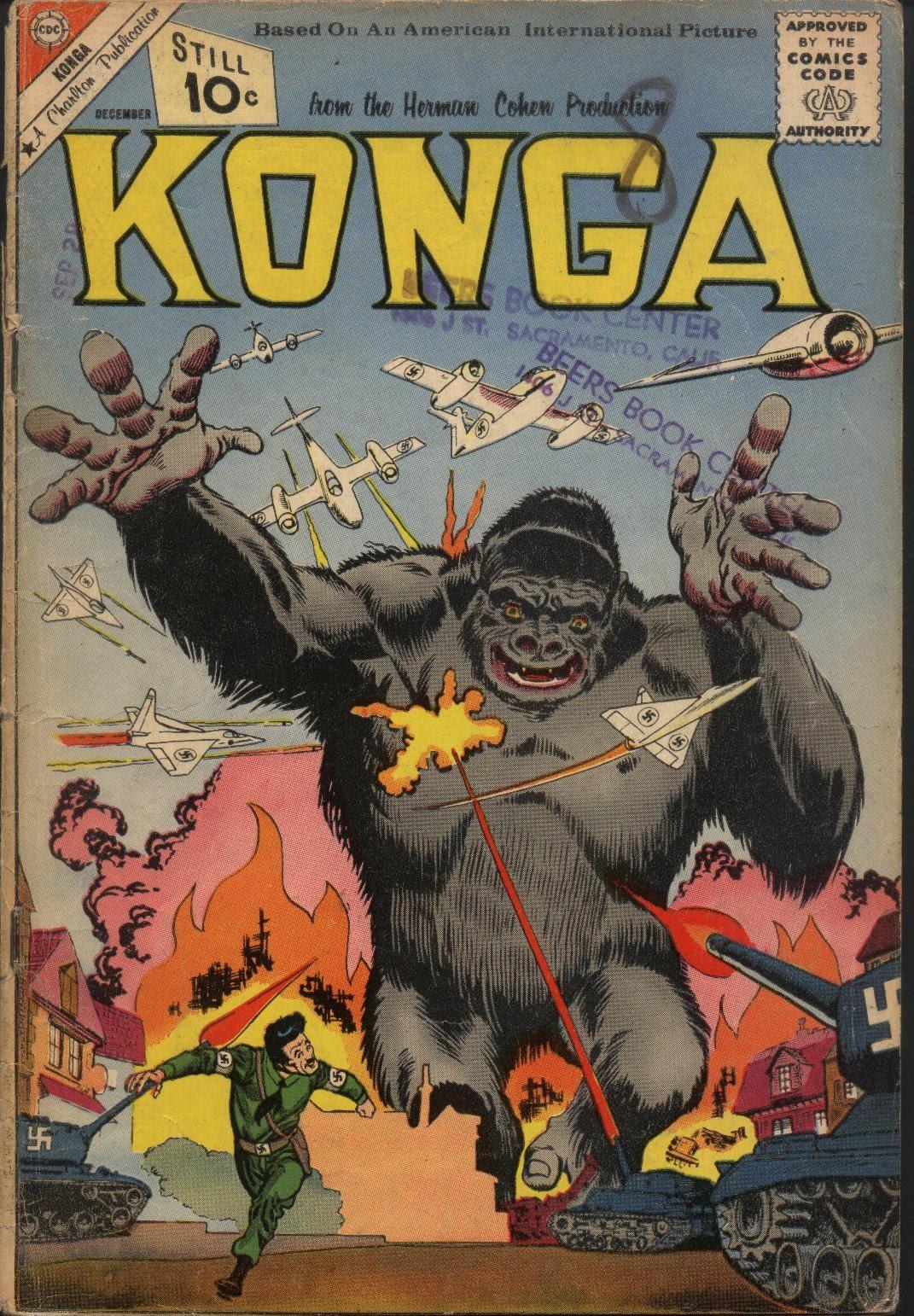 Konga 4 Page 1