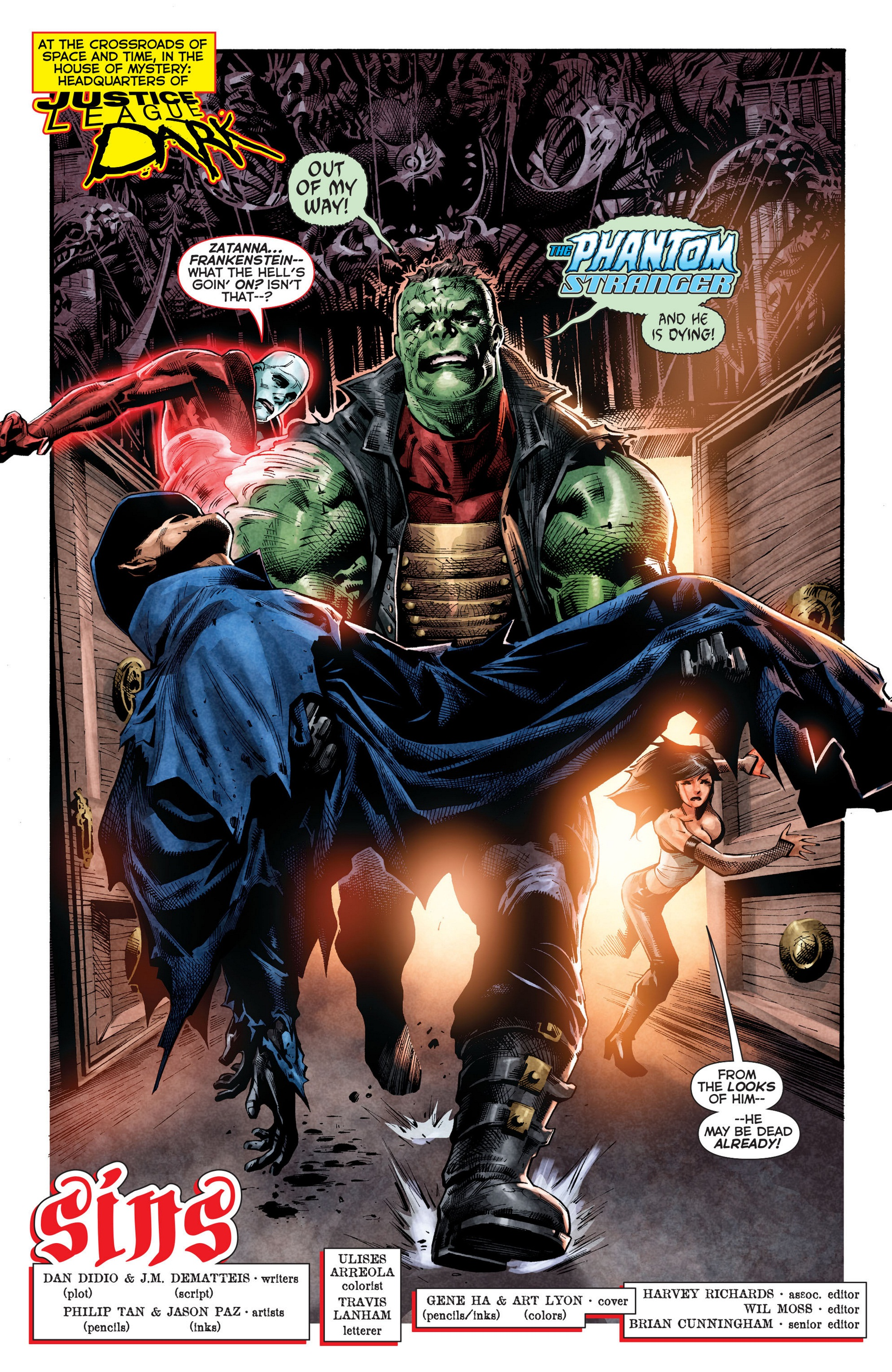 Read online Trinity of Sin: The Phantom Stranger comic -  Issue #8 - 2