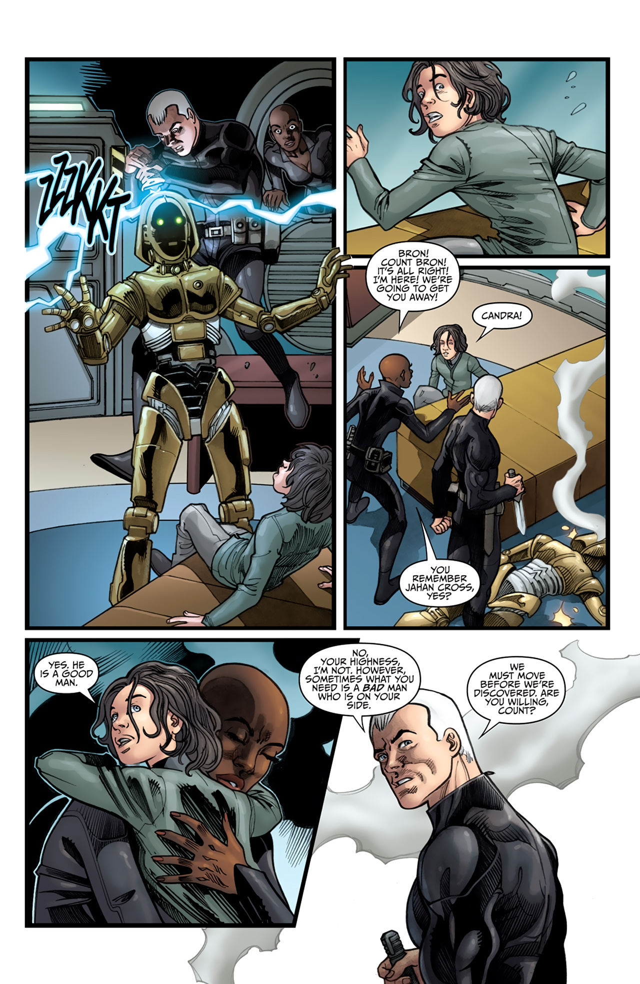 Read online Star Wars: Agent Of The Empire - Hard Targets comic -  Issue #4 - 12