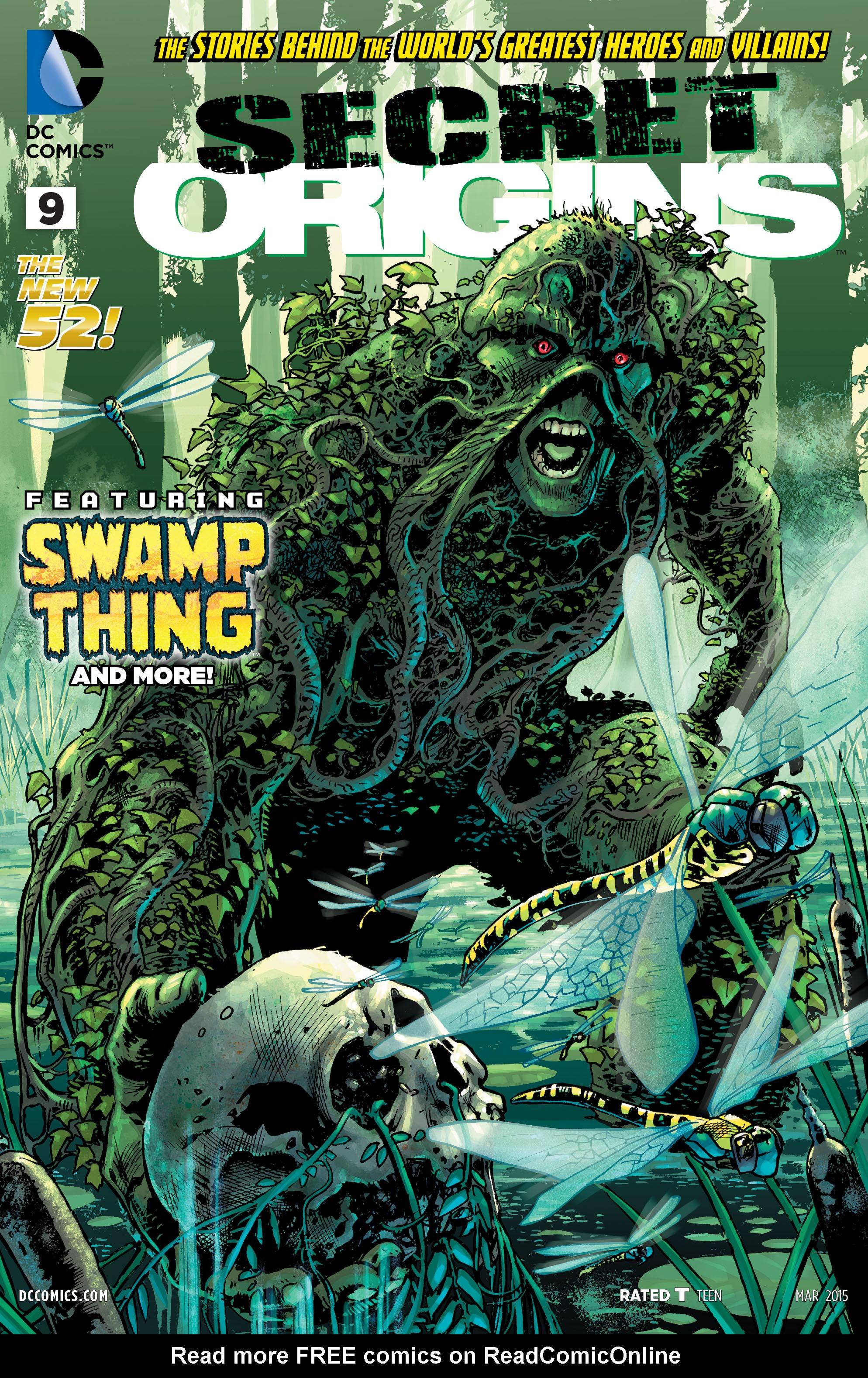 Read online Secret Origins (2014) comic -  Issue #9 - 1