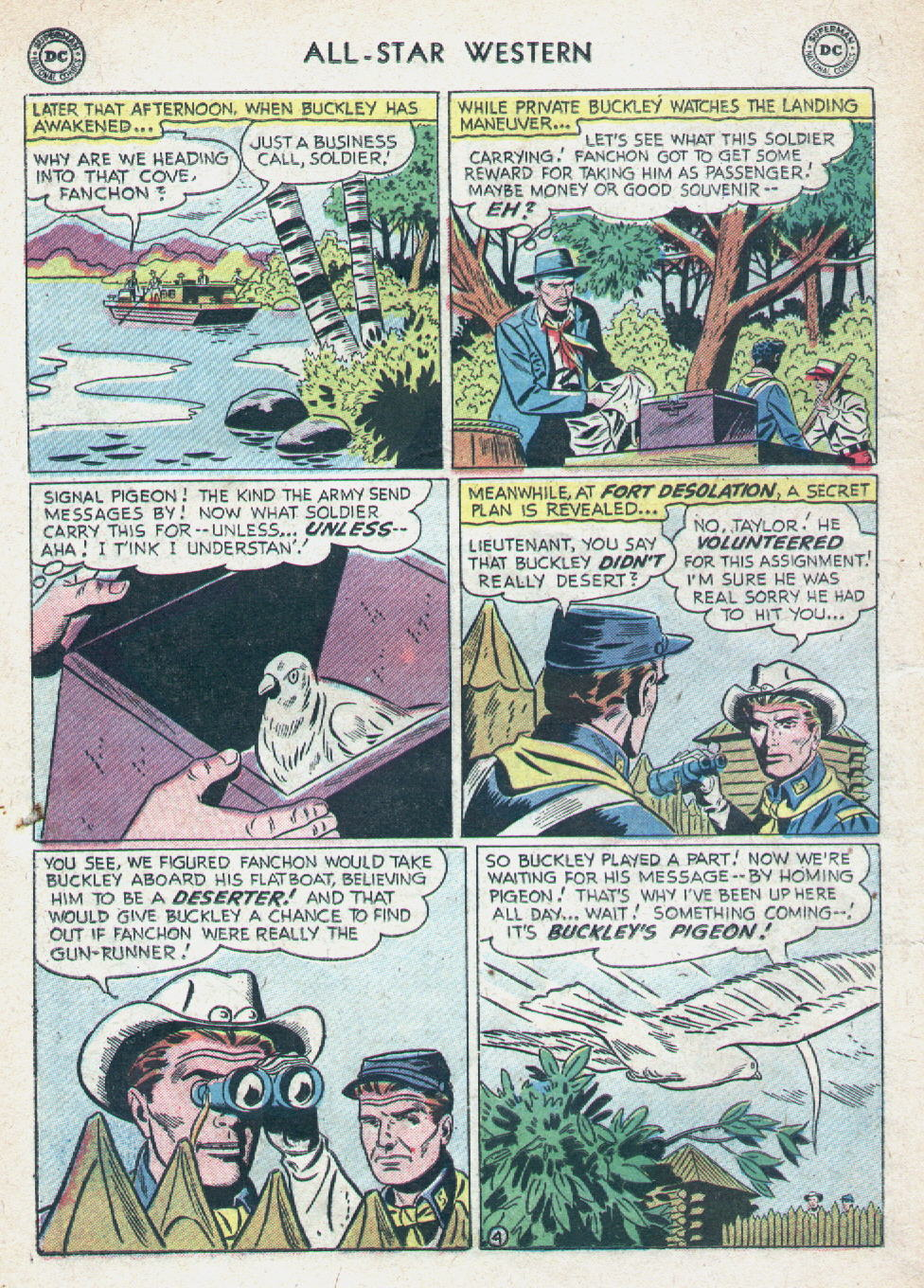 Read online All-Star Western (1951) comic -  Issue #90 - 22